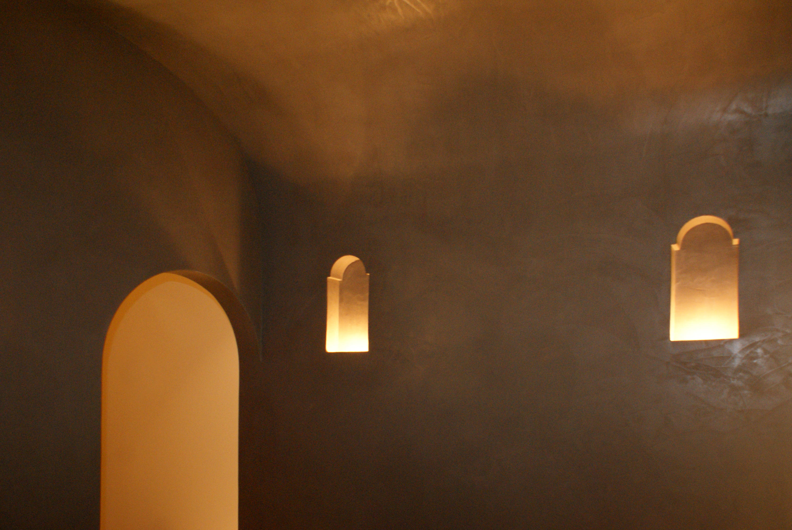 Moor 1 Recessed Wall Lights From Brick In The