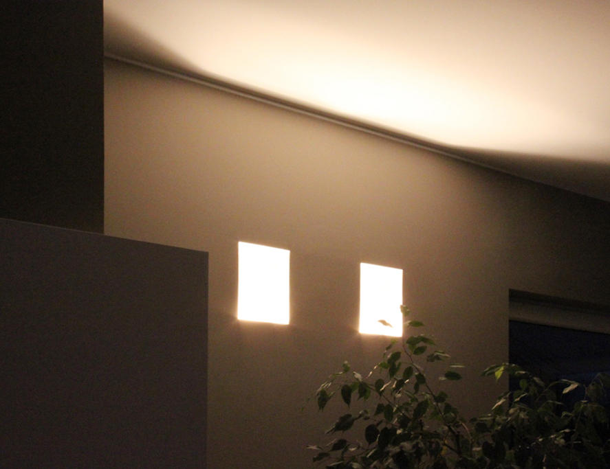 Normall Recessed Wall Lights From Brick In The