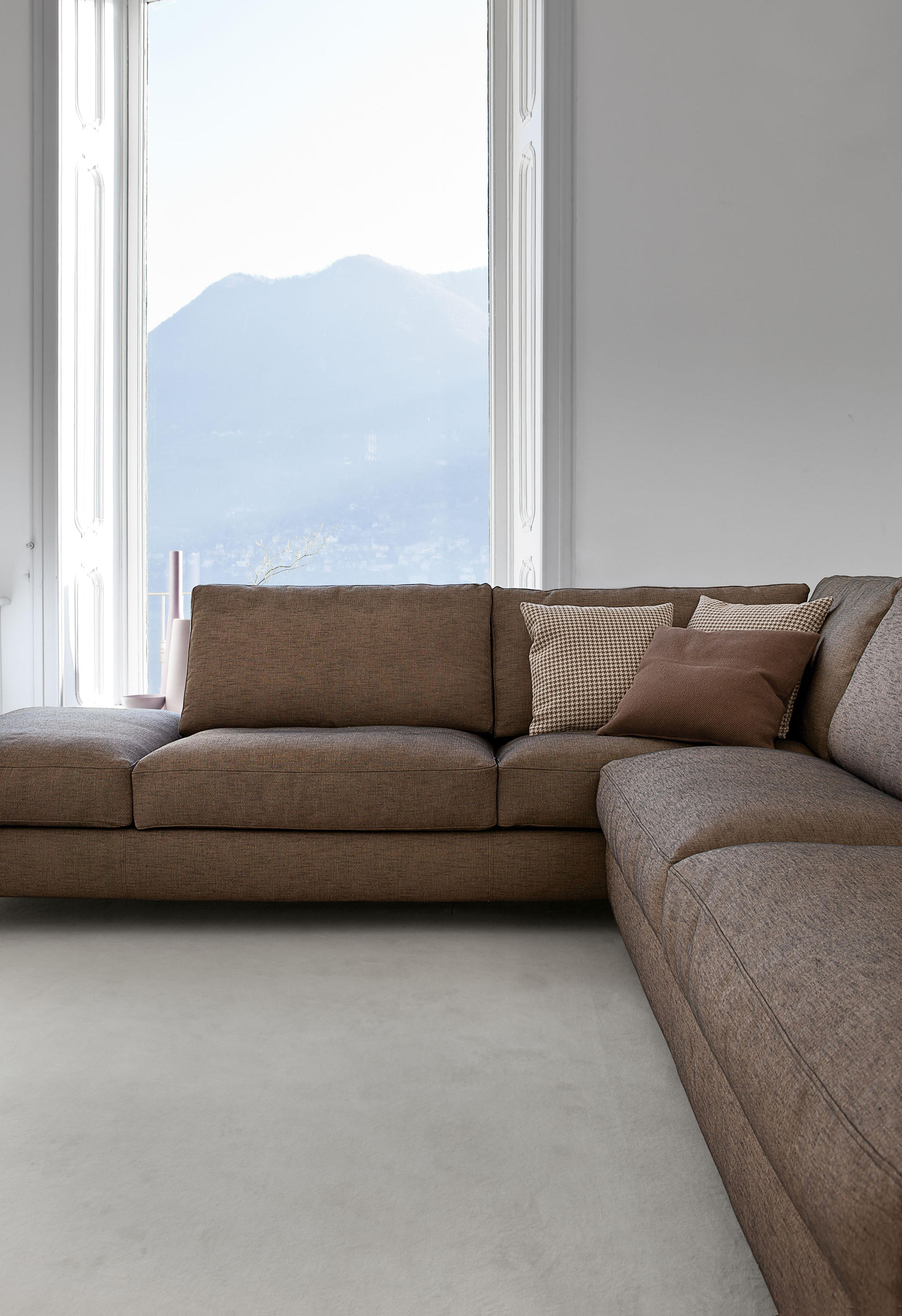 ZONE 940 FORT XL SOFA Modular sofa systems from Vibieffe