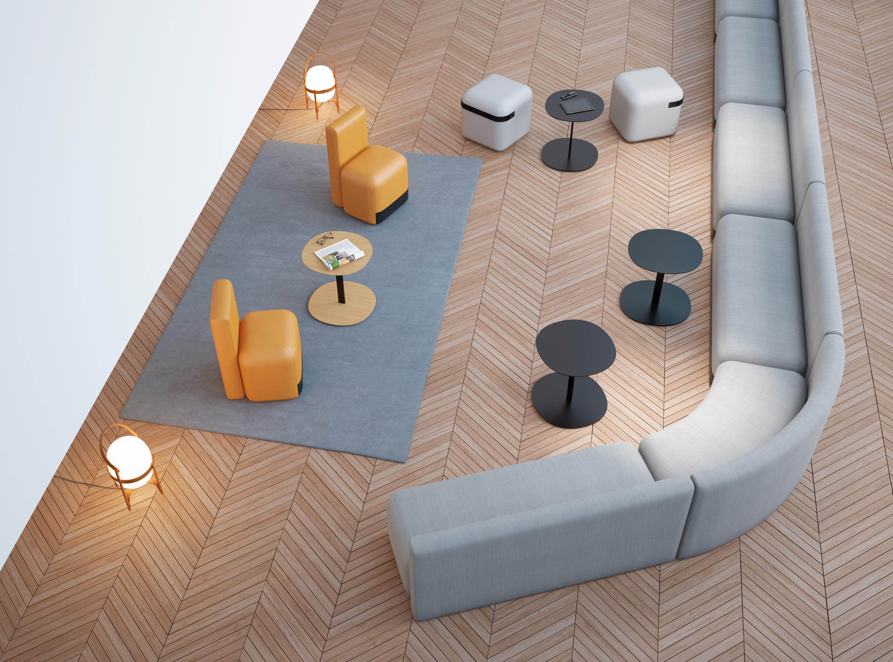 Season Mini Poufs From Viccarbe Architonic