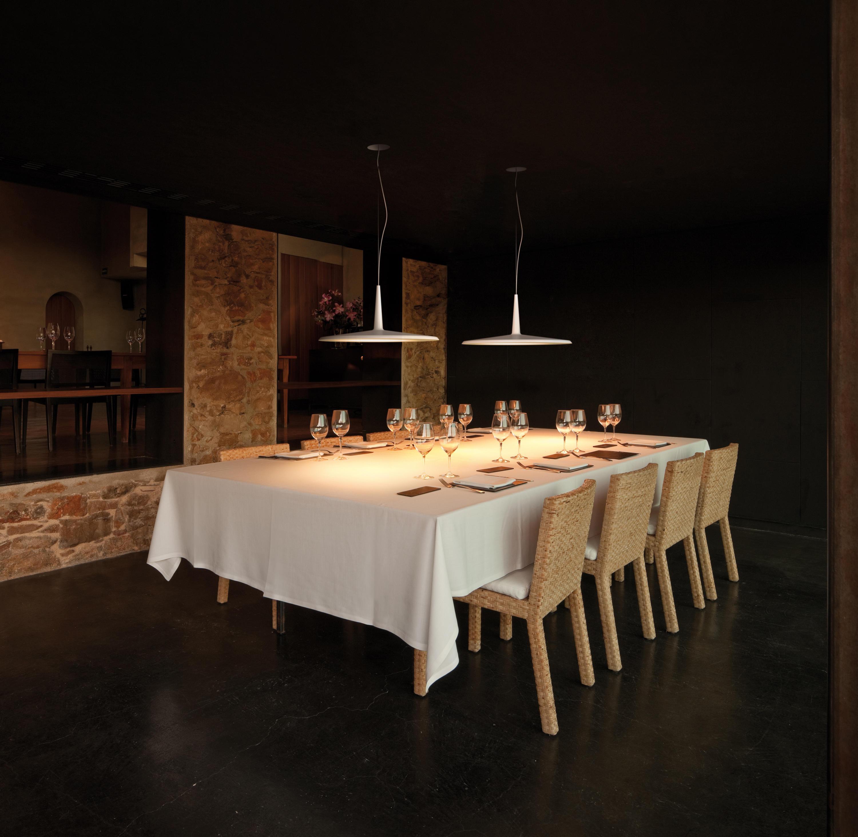 Skan 0275 hanging lamp allgemeinbeleuchtung von vibia - Lampada a sospensione per tavolo pranzo ...