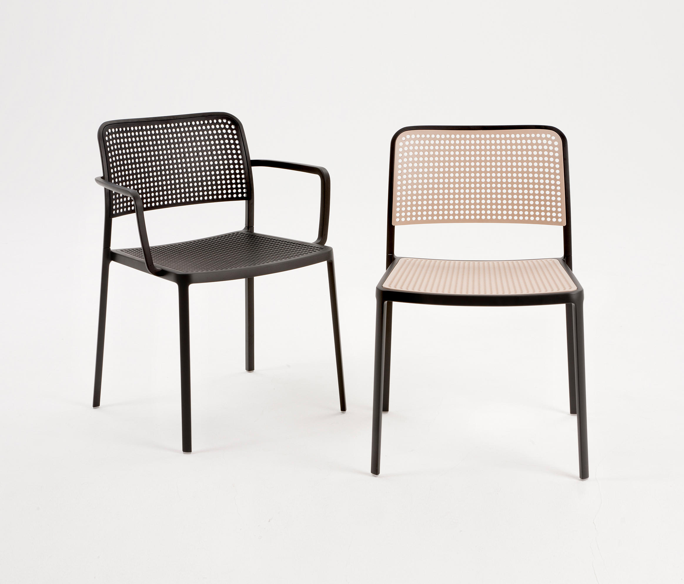 AUDREY Multipurpose chairs from Kartell