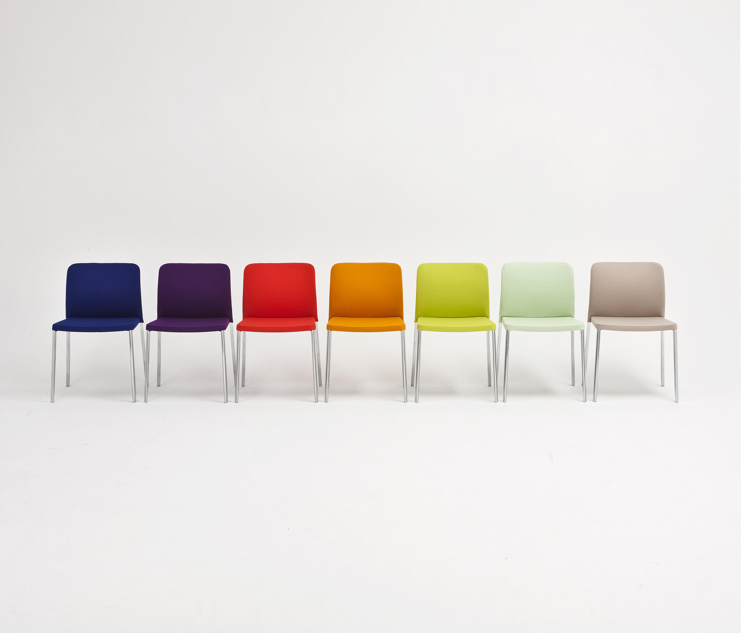 Audrey multipurpose chairs from kartell architonic for Chaise kartell
