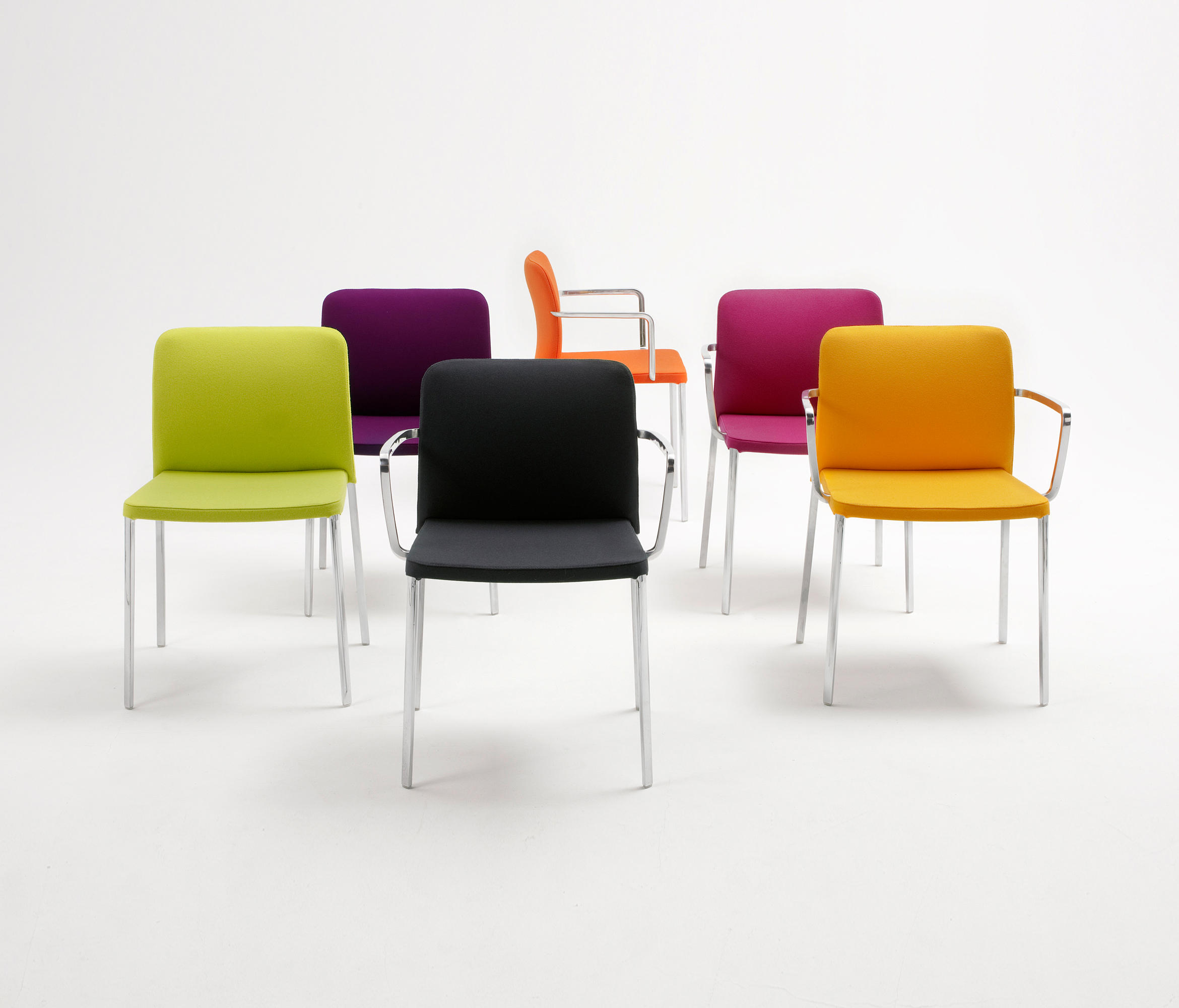 audrey multipurpose chairs from kartell architonic