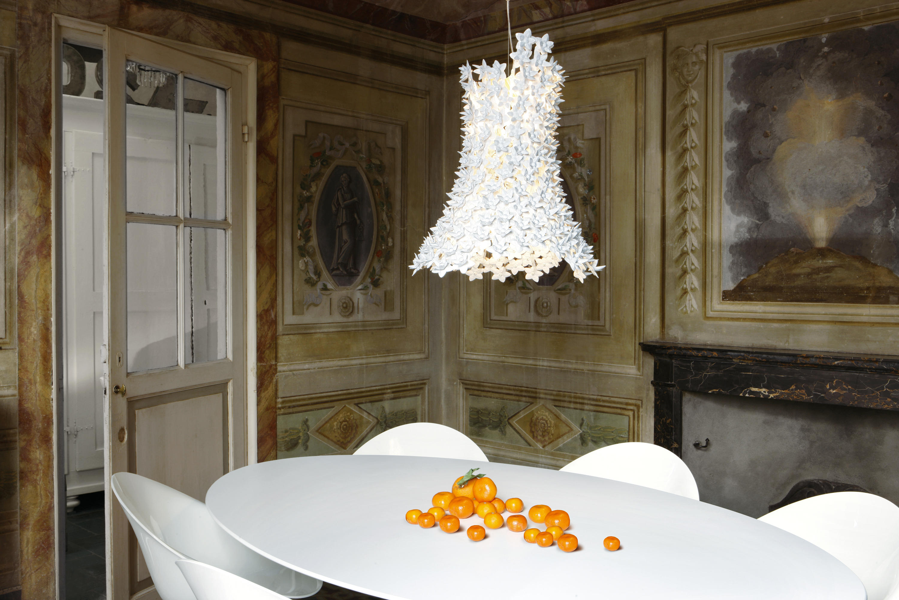 Bloom suspended lights from kartell architonic