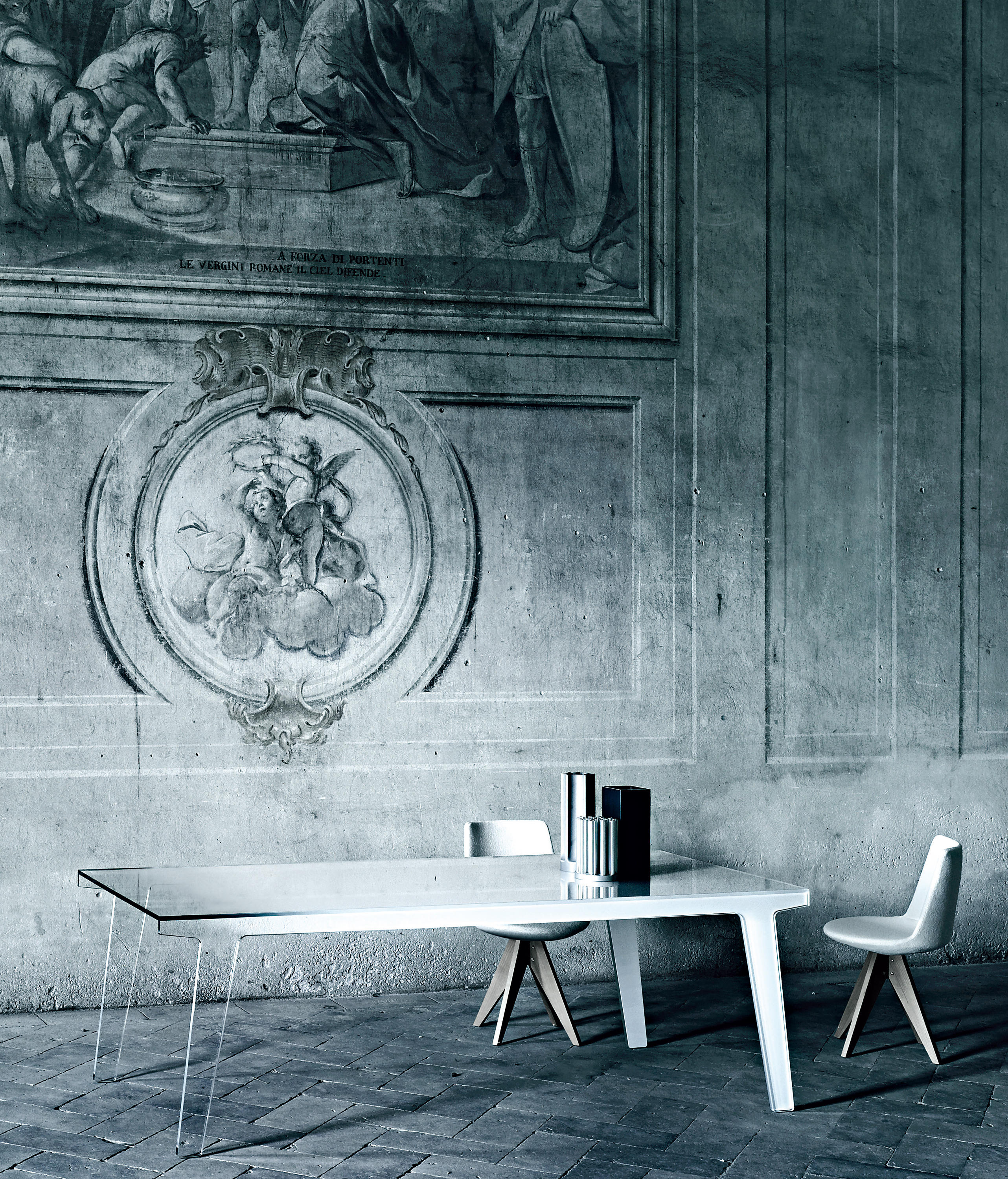 FAINT - Dining tables from Glas Italia | Architonic