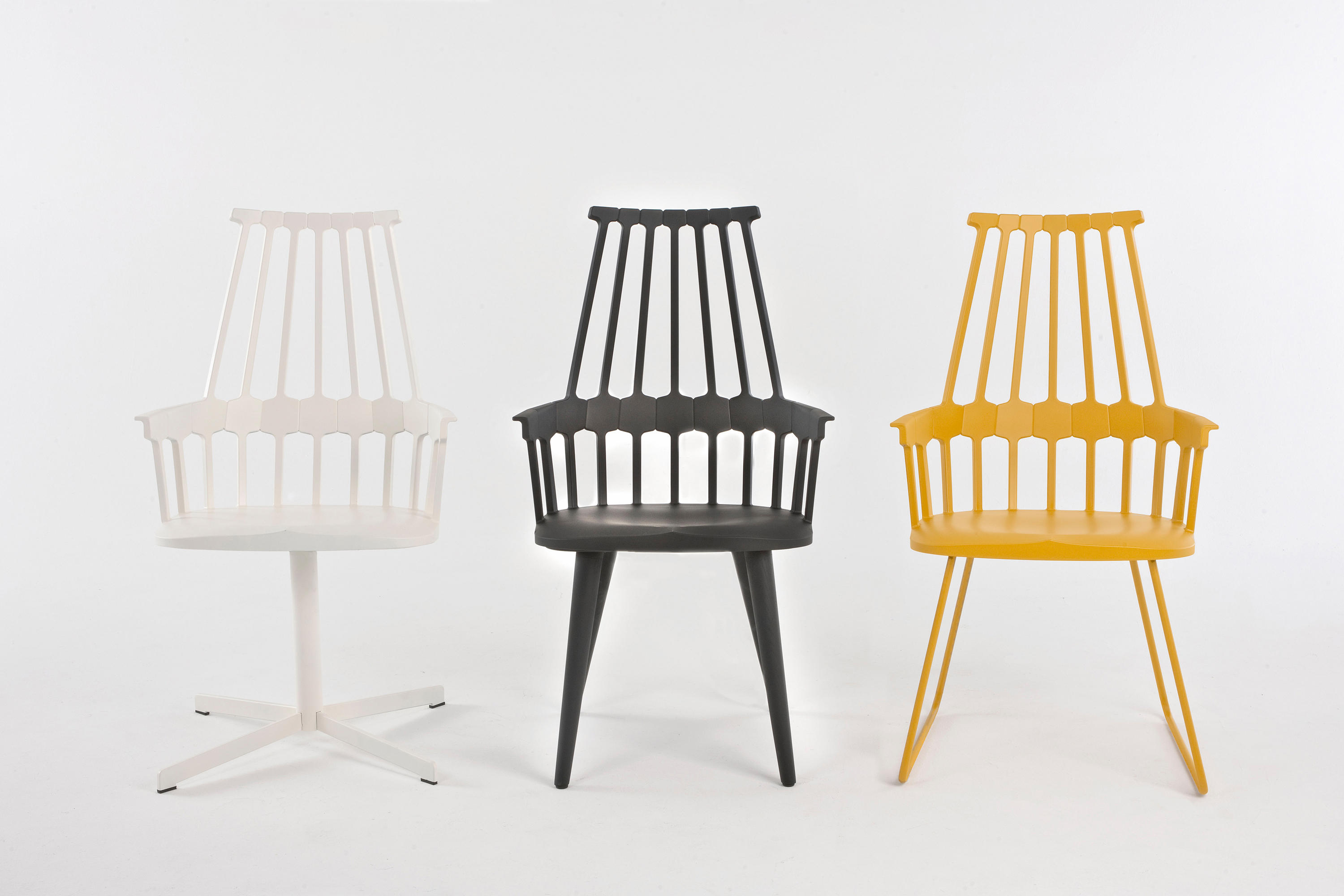 Comback chair chairs from kartell architonic - Chaise kartell solde ...