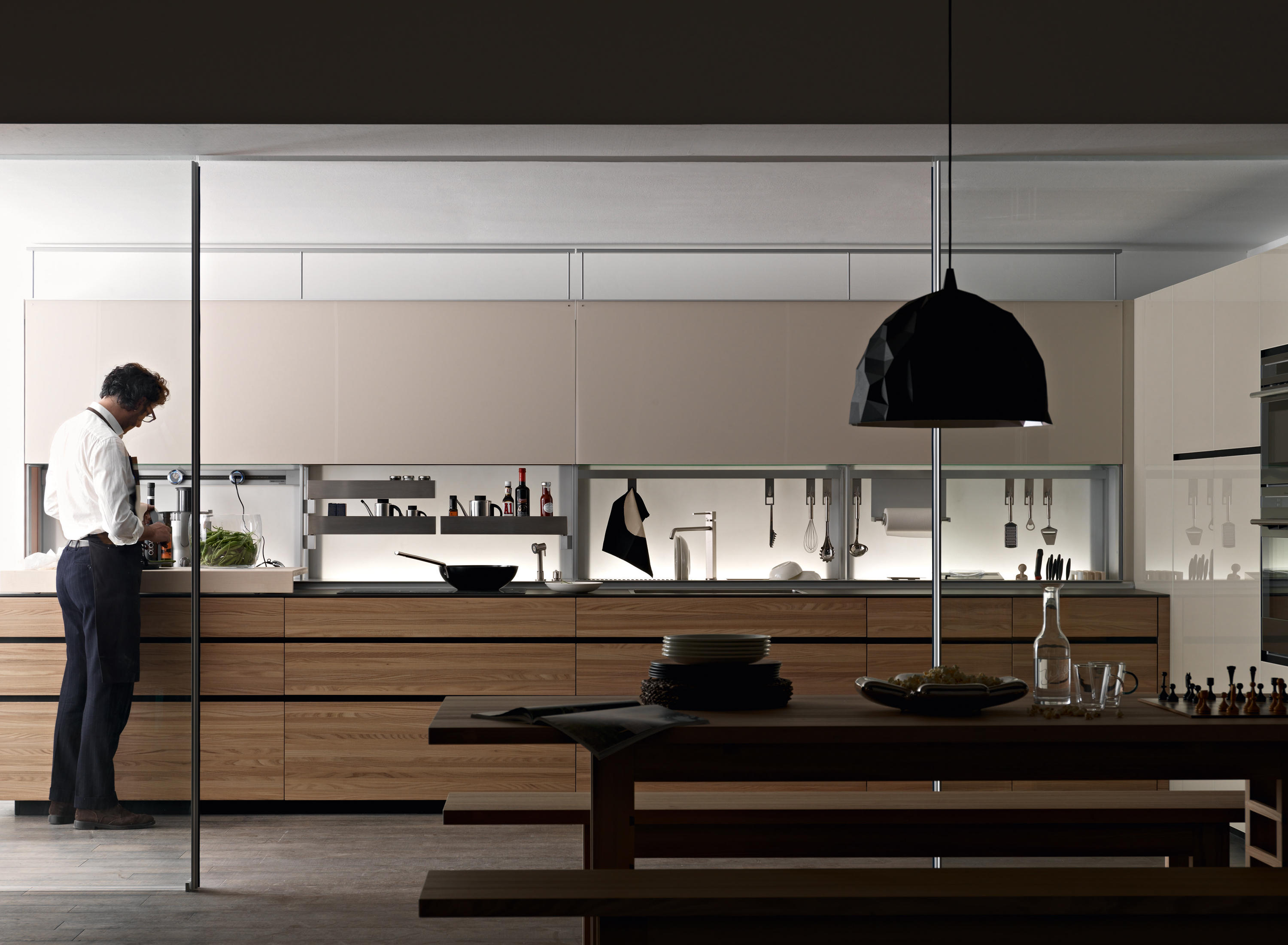 New Logica System Olmo Tattile By Valcucine ...