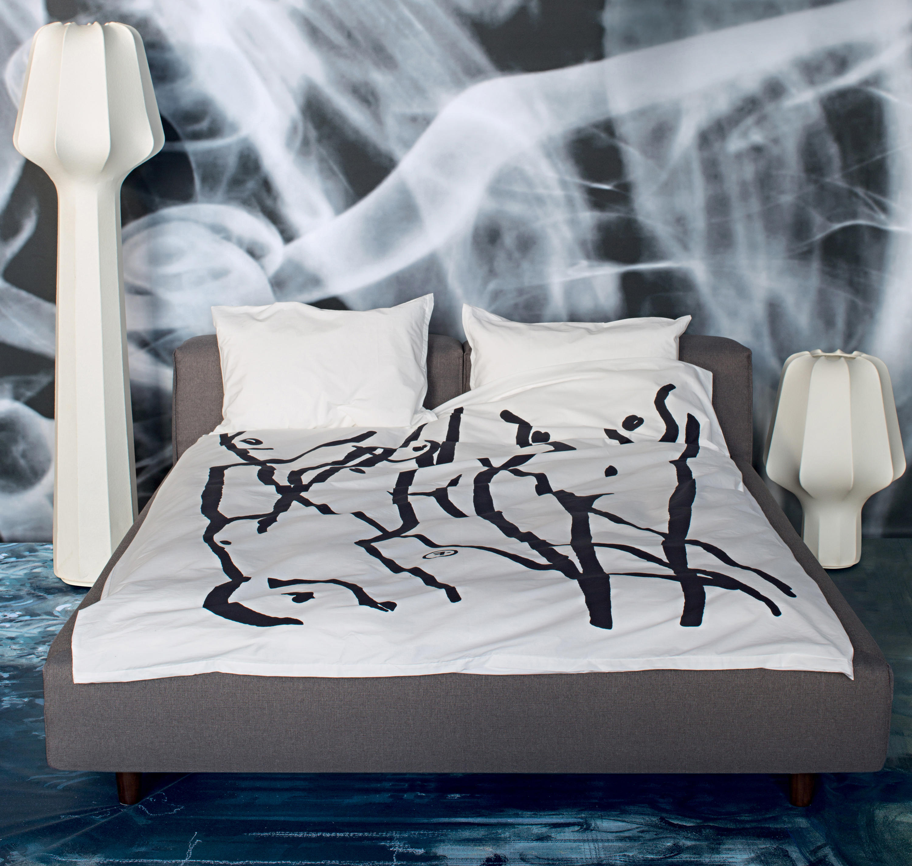 La Cote Aux Fees Serigrafien Wall Decoration From Atelier Pfister