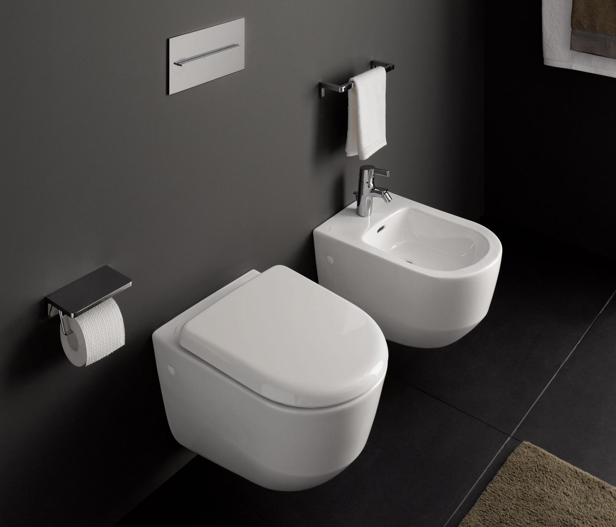 laufen pro wall hung wc toilets from laufen architonic. Black Bedroom Furniture Sets. Home Design Ideas