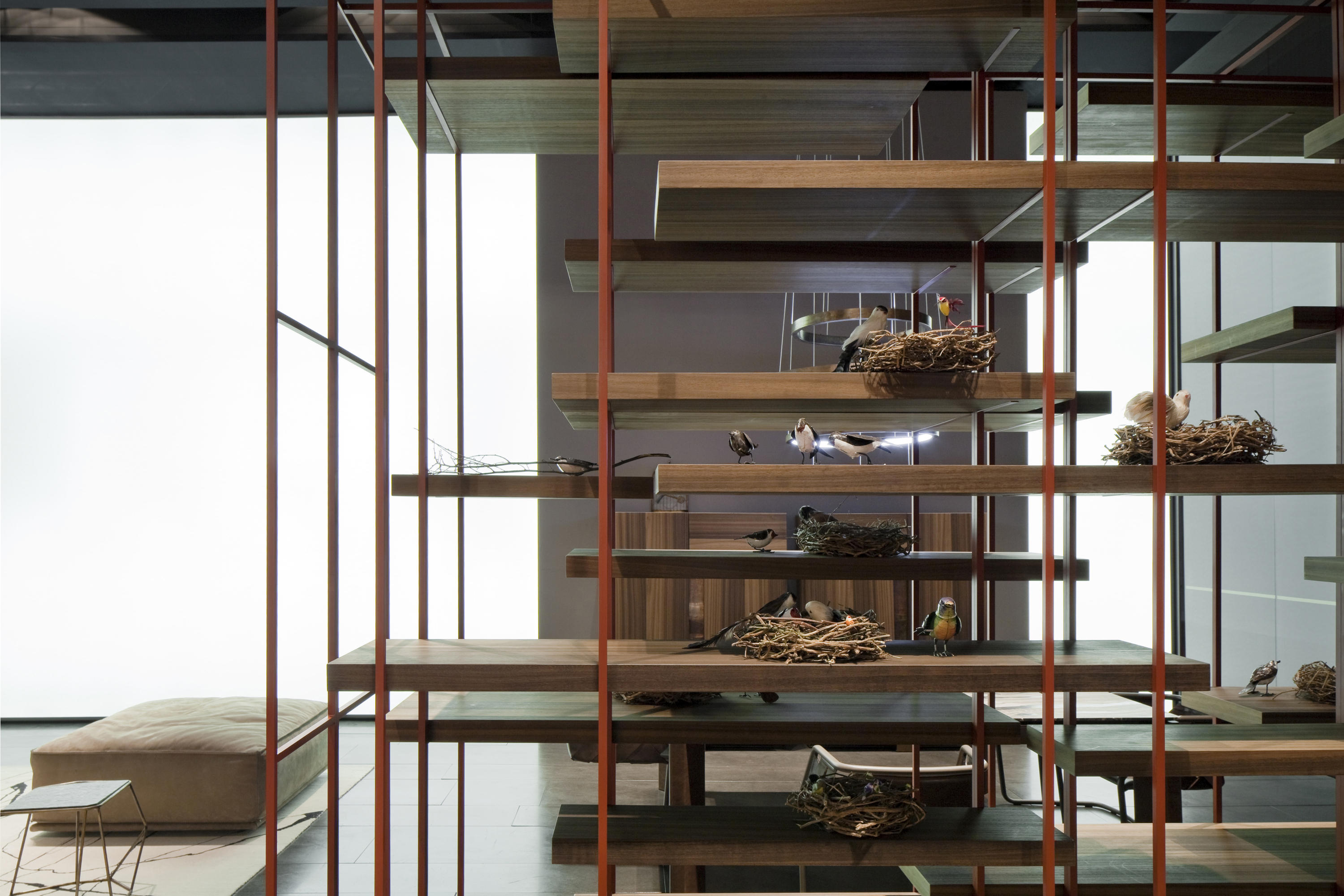 Cage B Shelving From Henge Architonic