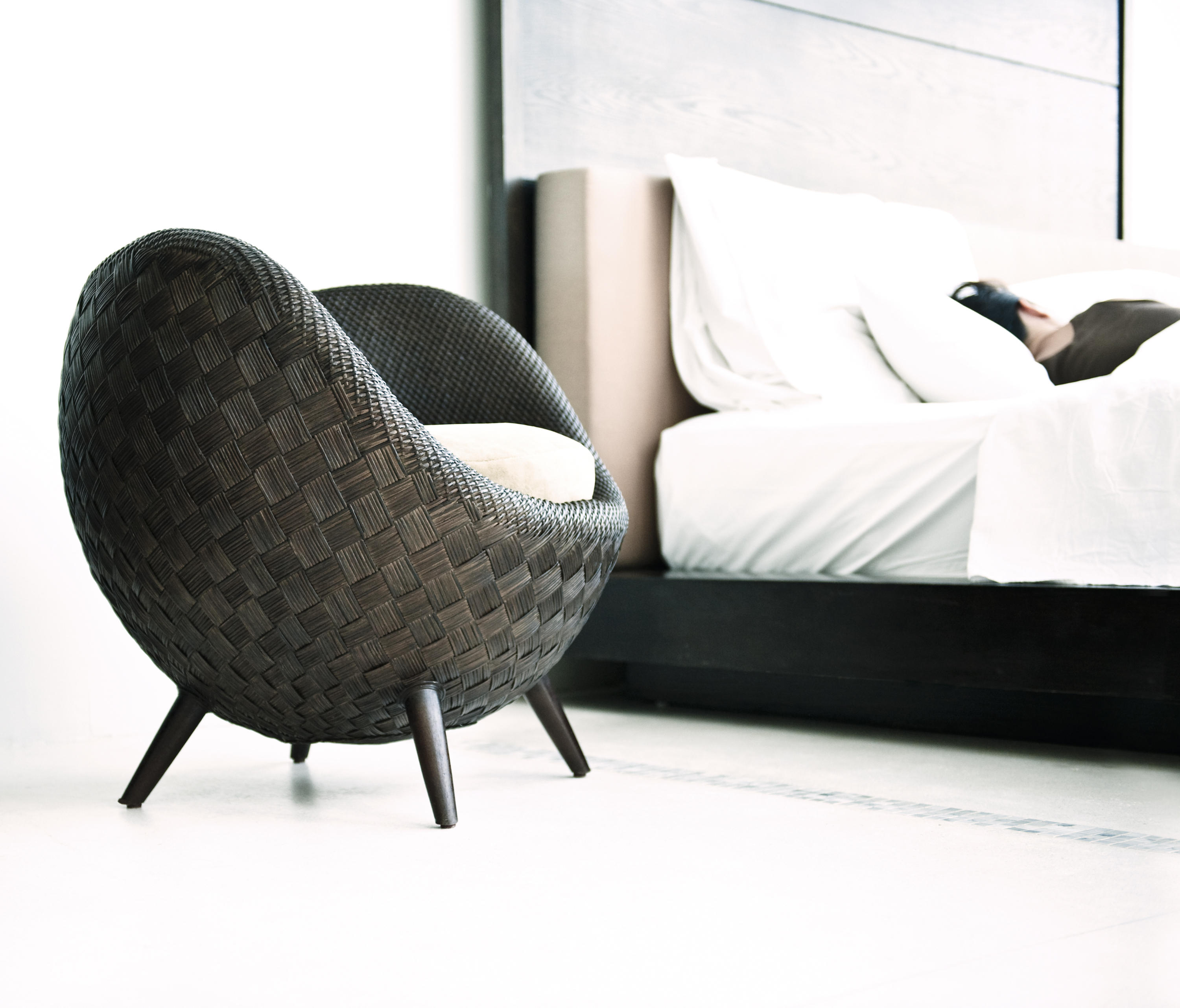 kenneth cobonpue furniture. la luna easy armchair by kenneth cobonpue furniture p