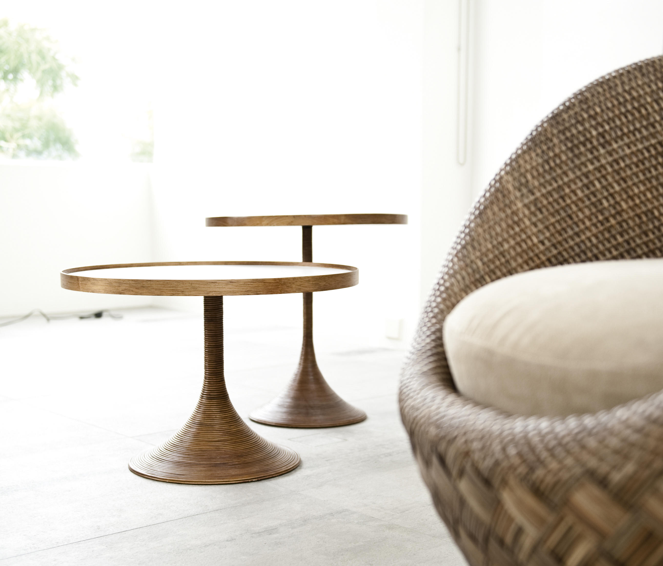 LA LUNA EASY ARMCHAIR Lounge chairs from Kenneth Cobonpue