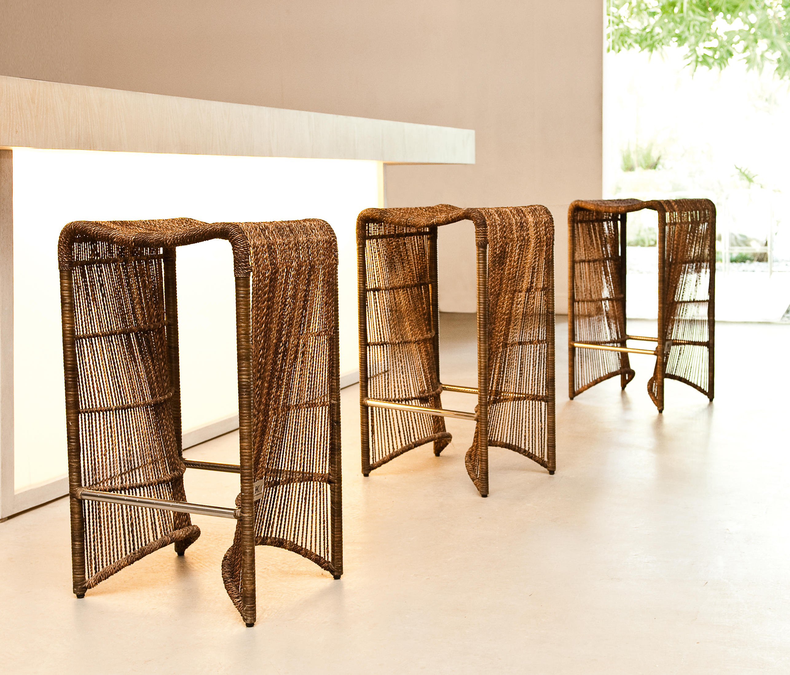 Pigalle Barstool Bar Stools From Kenneth Cobonpue