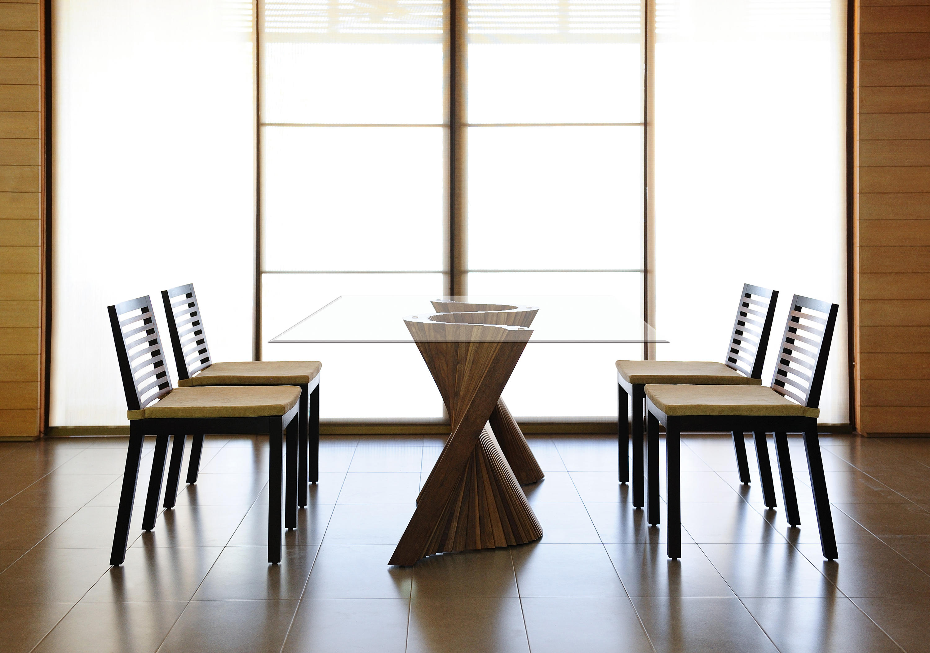 WAVE DINING TABLE Dining tables from Kenneth Cobonpue  : wave setting 02 b from www.architonic.com size 3000 x 2108 jpeg 567kB