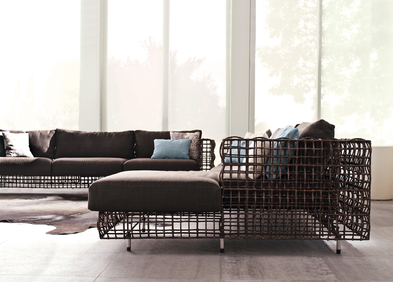 Yang Sofa yin & yang easy armchair - garden armchairs from kenneth cobonpue