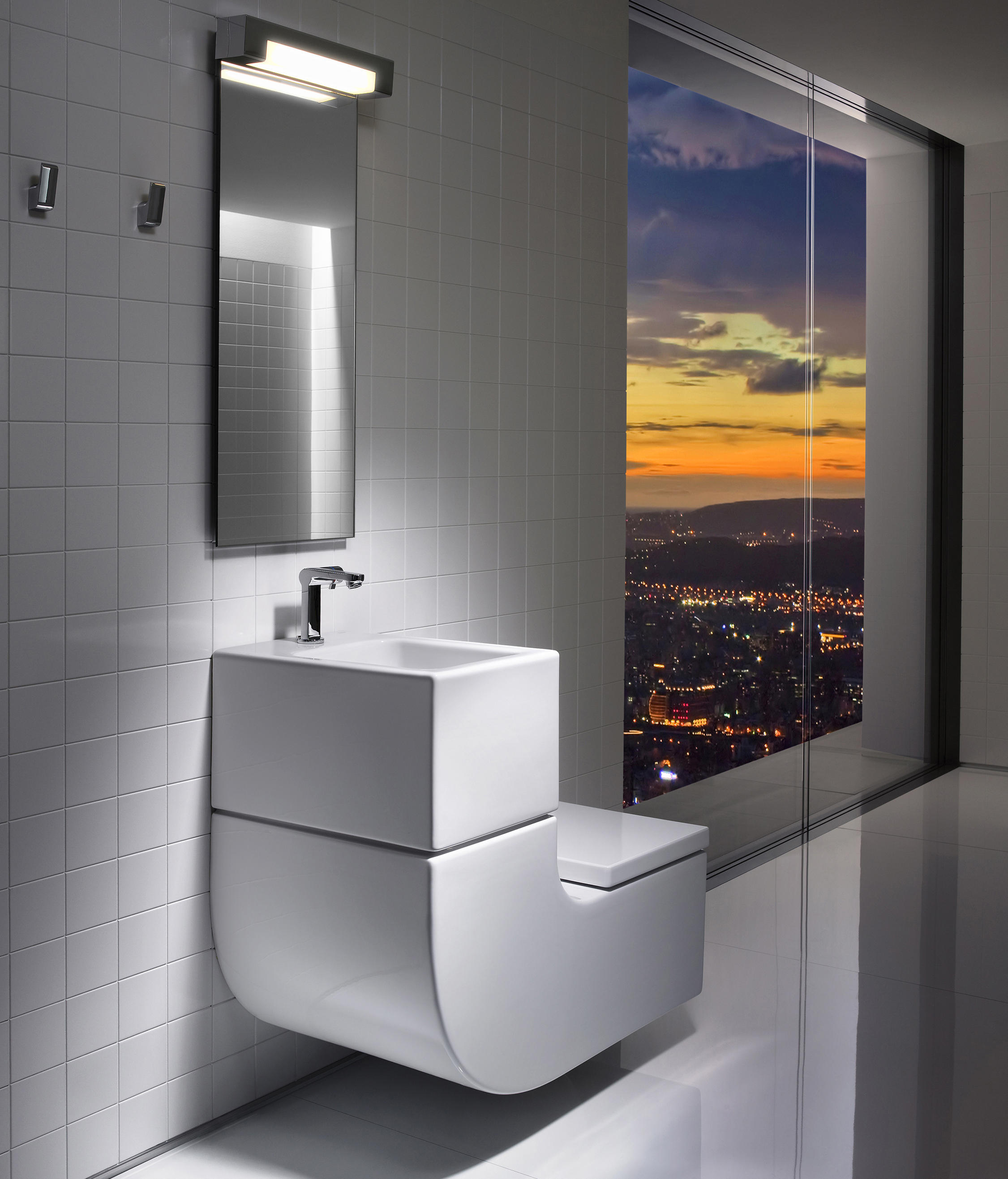 w w washbasin wc toilets from roca architonic. Black Bedroom Furniture Sets. Home Design Ideas