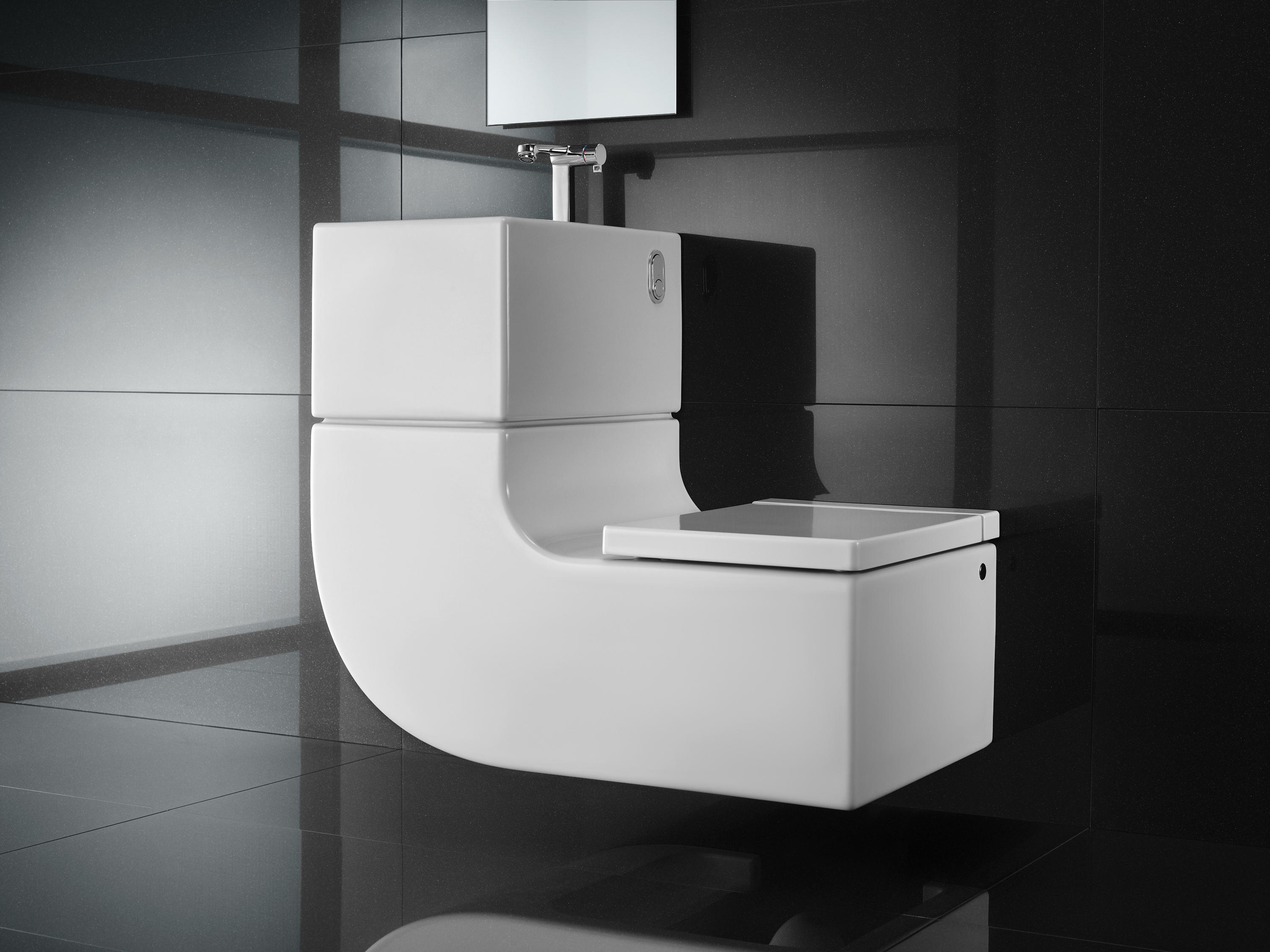 W w washbasin wc toilets from roca architonic for Marcas de retretes