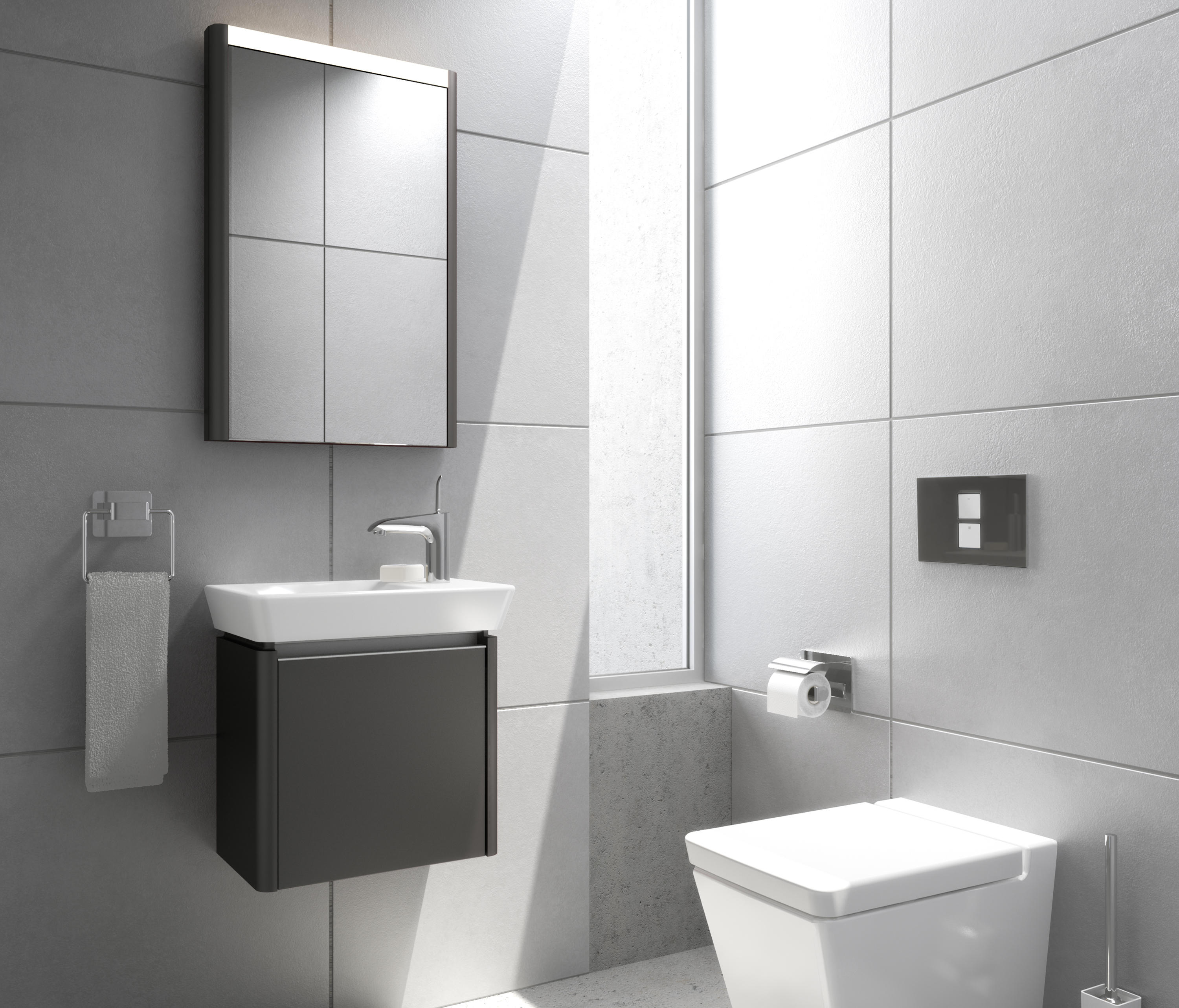 T4 Wall Hung Wc Wc From Vitra Bad Architonic