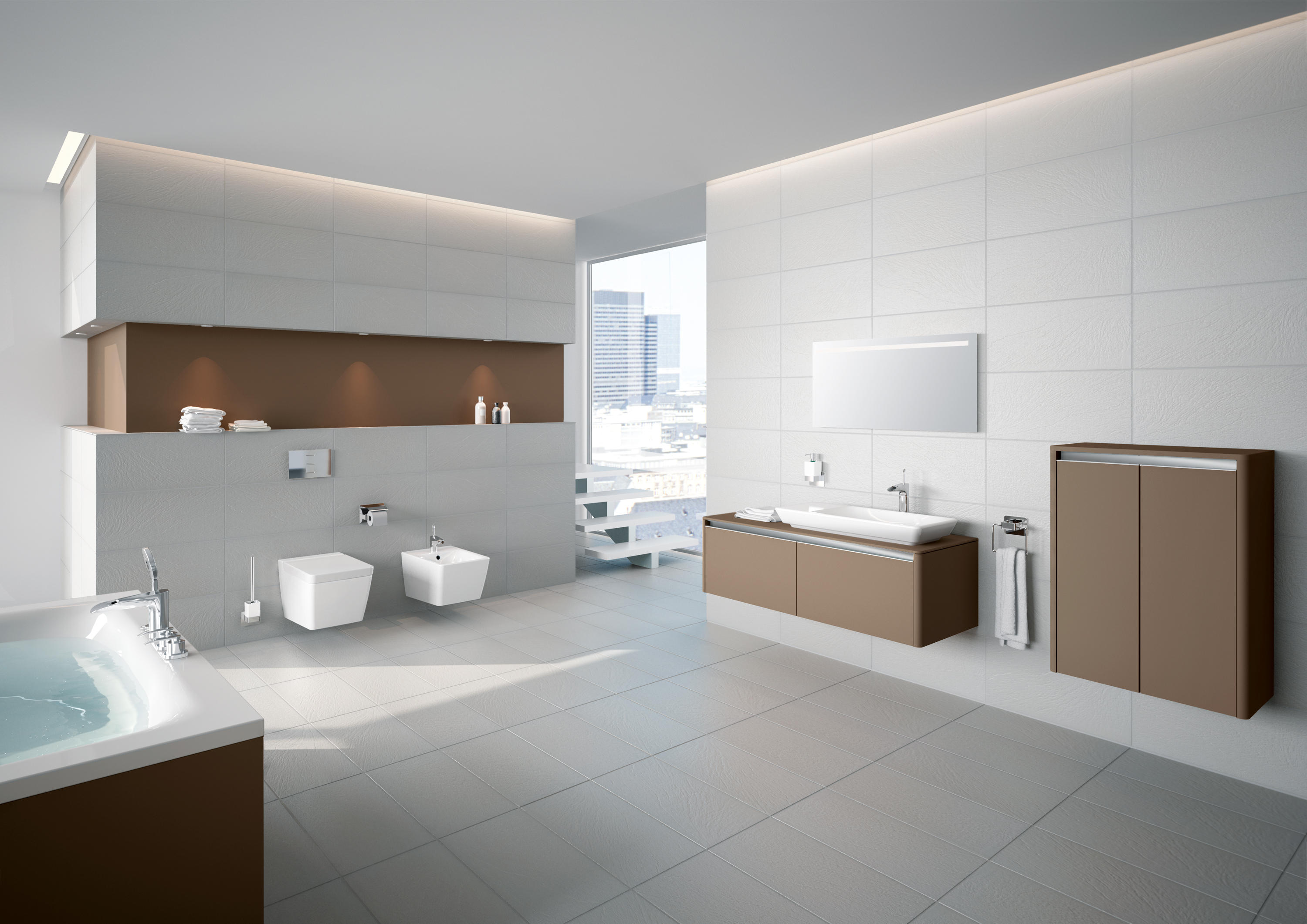 T4 WALL HUNG WC - Toilets from VitrA Bad | Architonic
