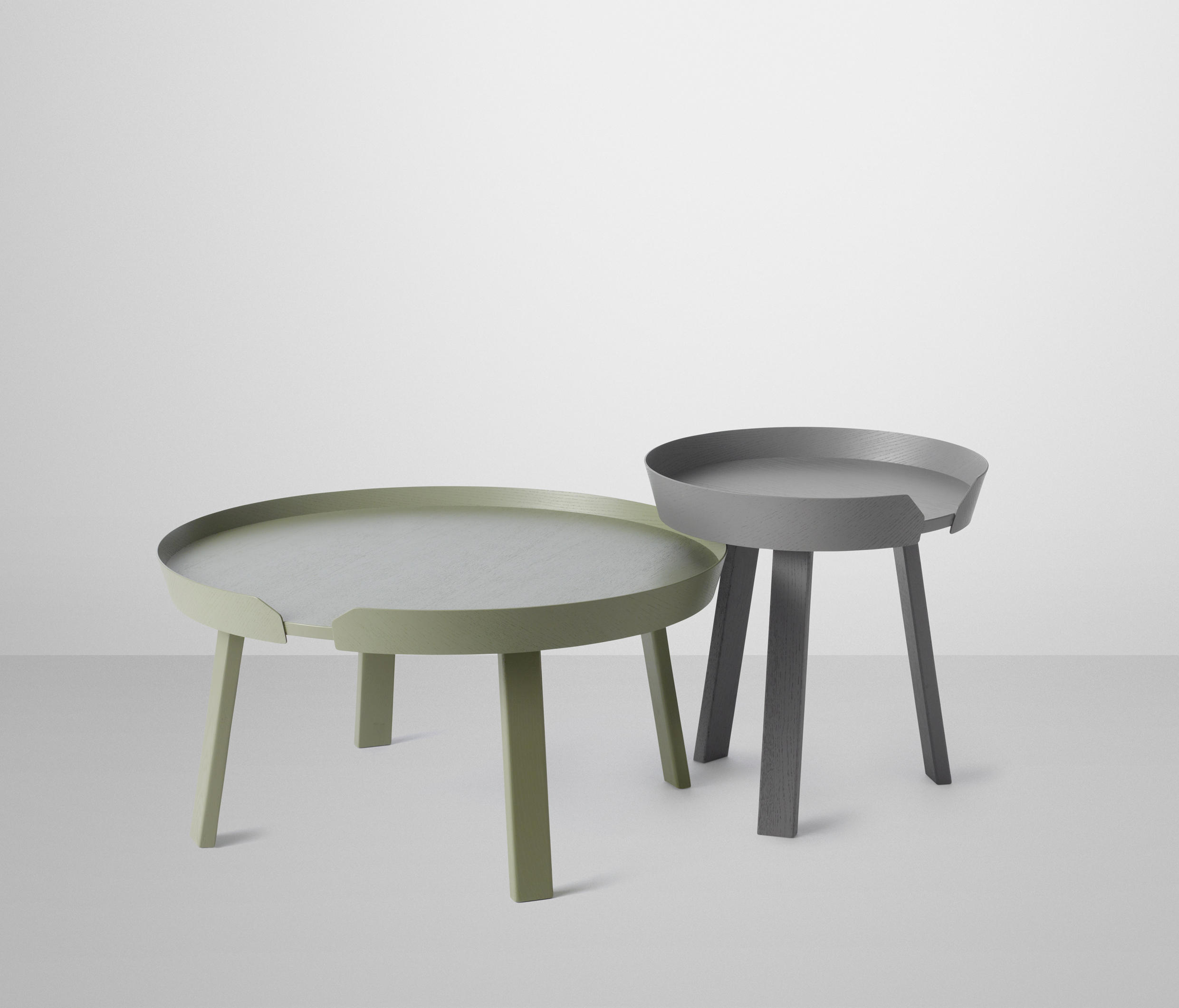 AROUND COFFEE TABLE SMALL Side tables from Muuto