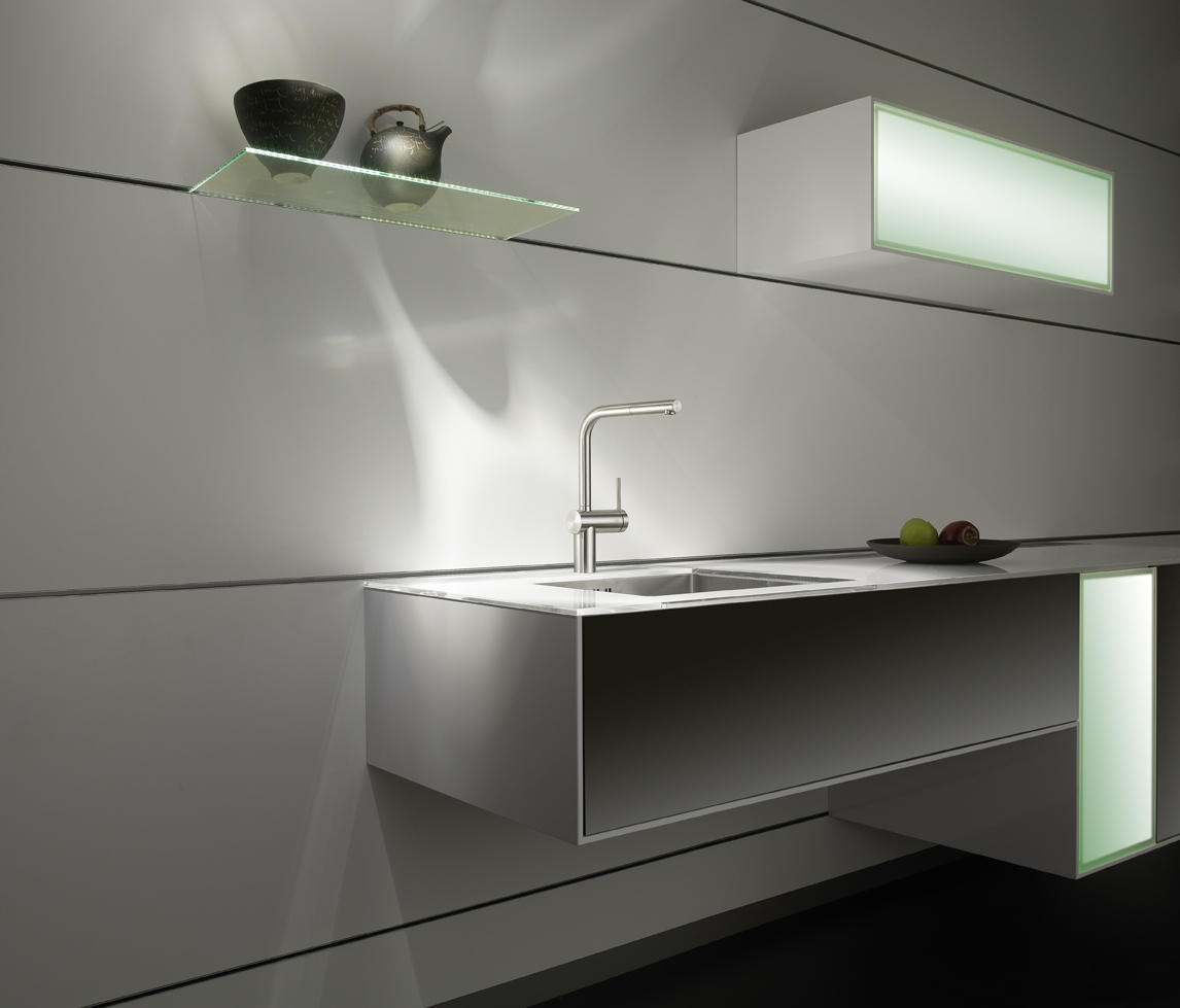 KWC LIVELLO LEVER MIXER|SWIVEL SPOUT 160° - Kitchen taps from KWC ...