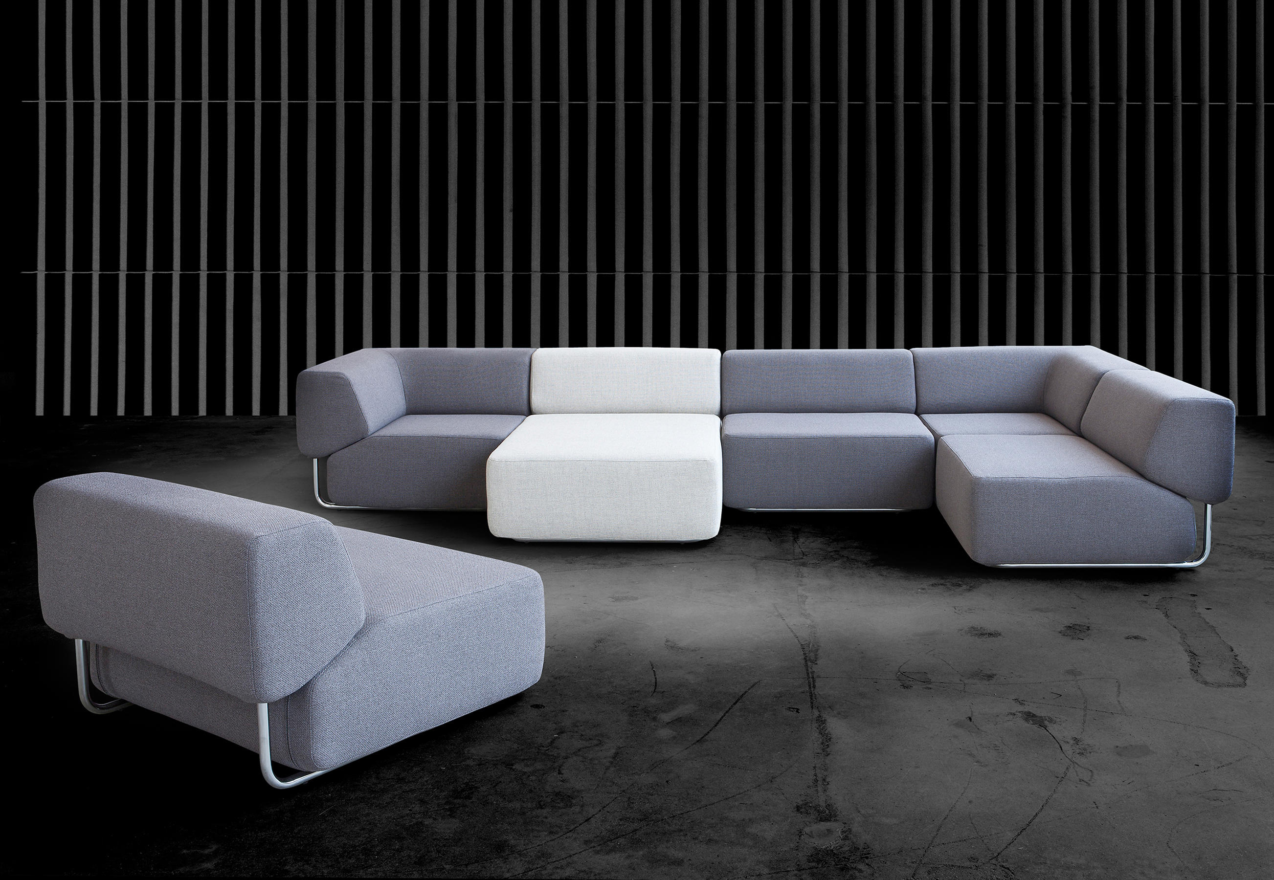 noa sofa modulare sitzgruppen von softline a s architonic. Black Bedroom Furniture Sets. Home Design Ideas