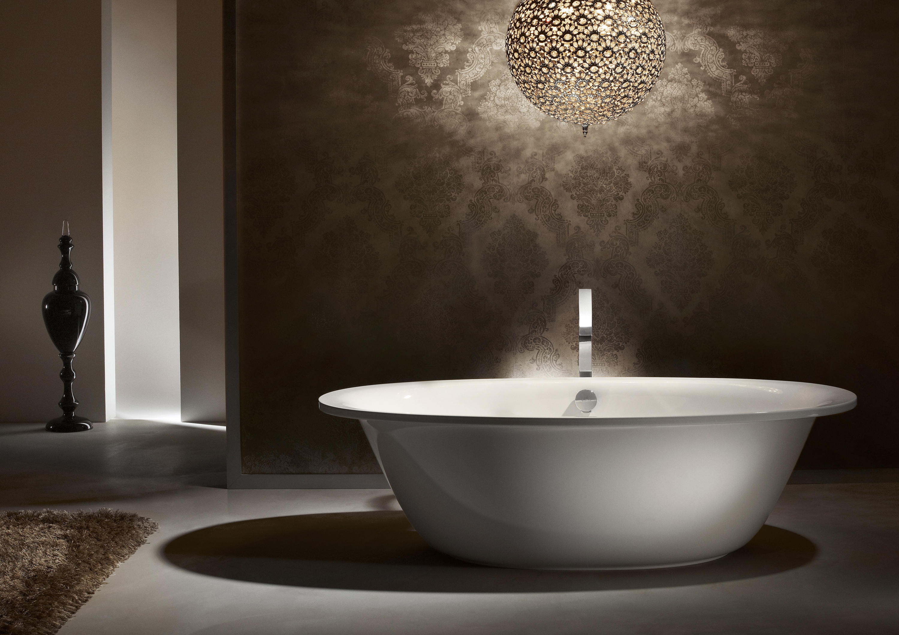 ellipso duo oval built in bathtubs from kaldewei architonic. Black Bedroom Furniture Sets. Home Design Ideas
