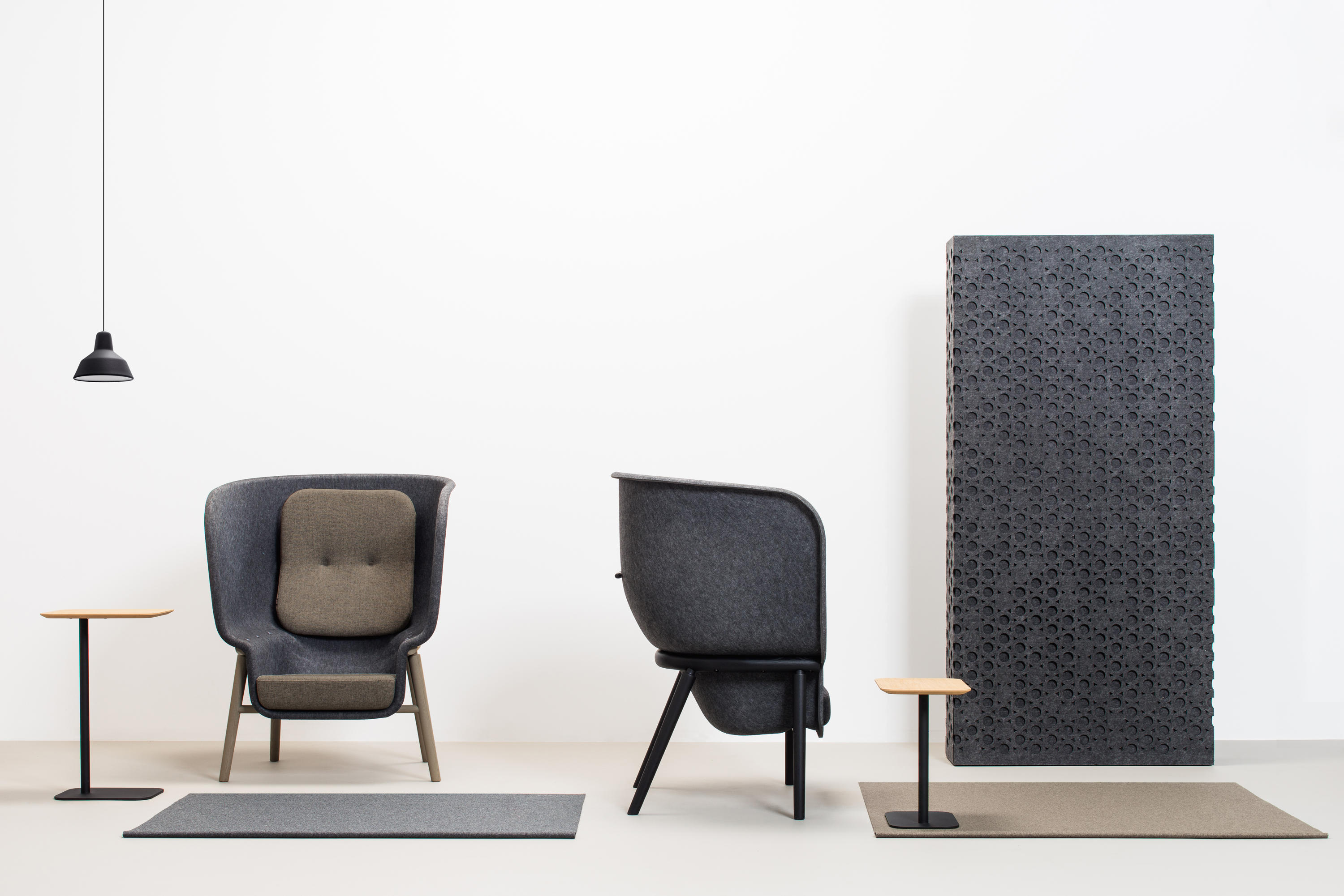 POD PRIVACY CHAIR Lounge chairs from De Vorm