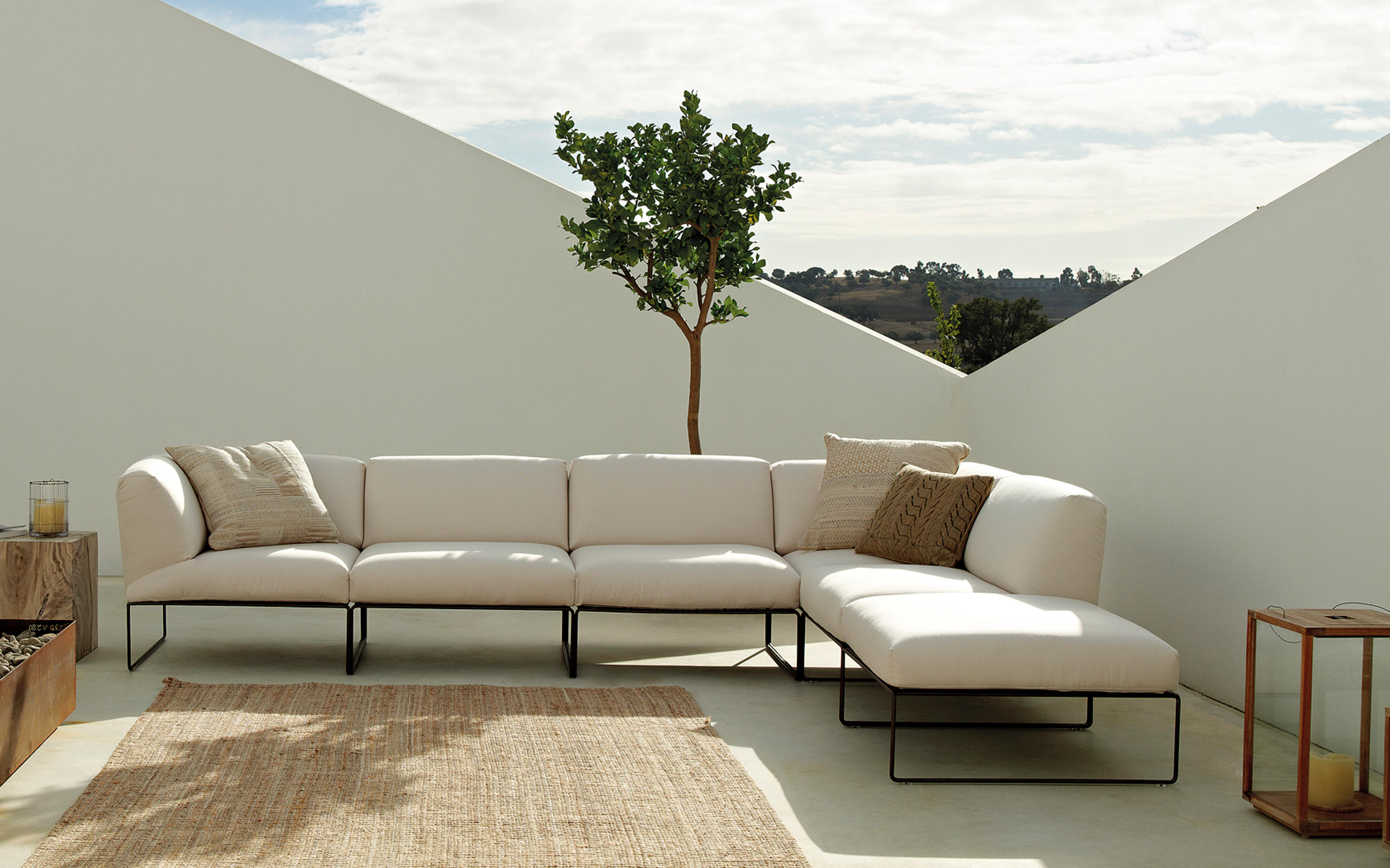 siesta outdoor armchairs from andreu world architonic