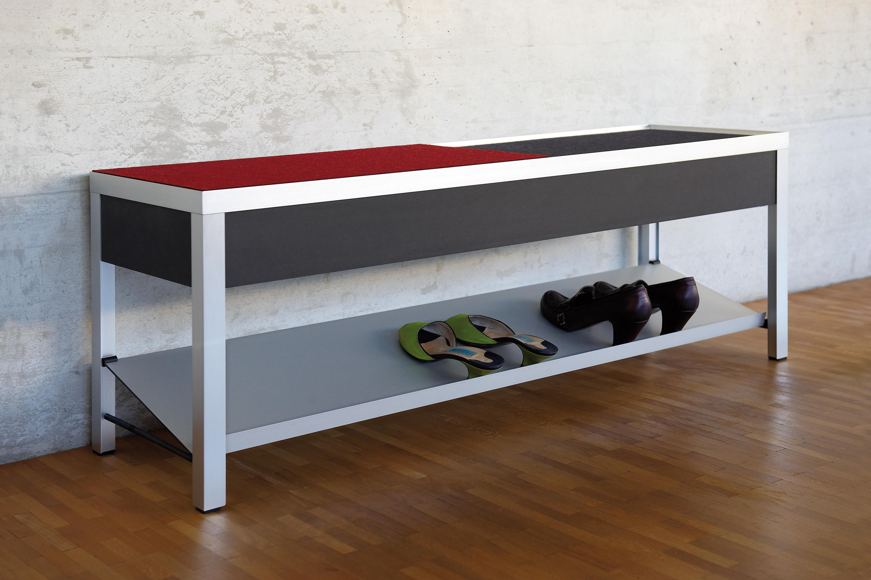 schuhbank schuhschr nke regale von cham leon design. Black Bedroom Furniture Sets. Home Design Ideas