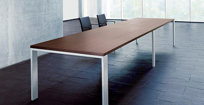 frame lite desk mesas de conferencias de walter knoll architonic. Black Bedroom Furniture Sets. Home Design Ideas