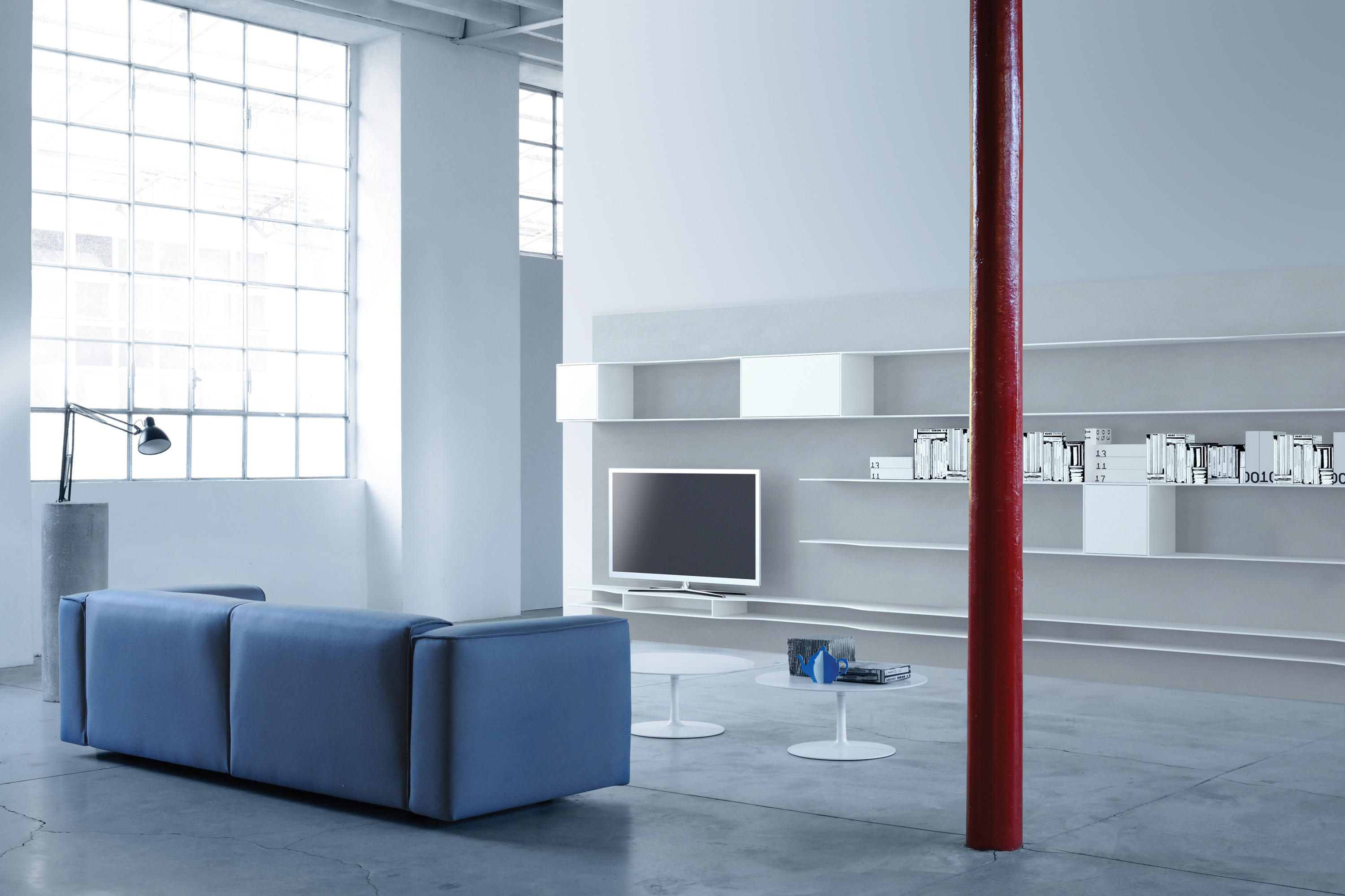 wave wall system shelves by mdf italia architonic. Black Bedroom Furniture Sets. Home Design Ideas