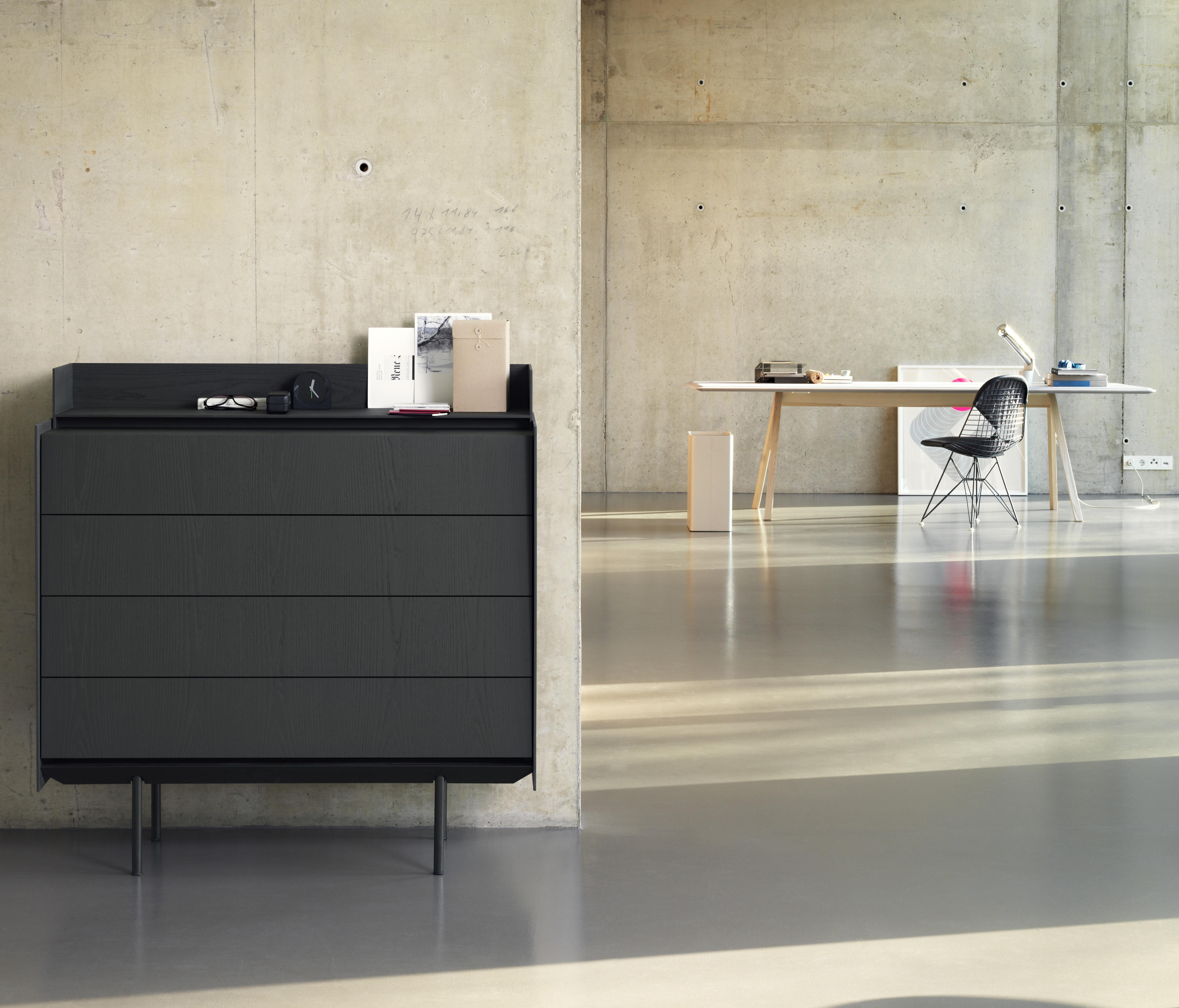 Highboard 120 sideboards from b wer architonic for Sideboard 120