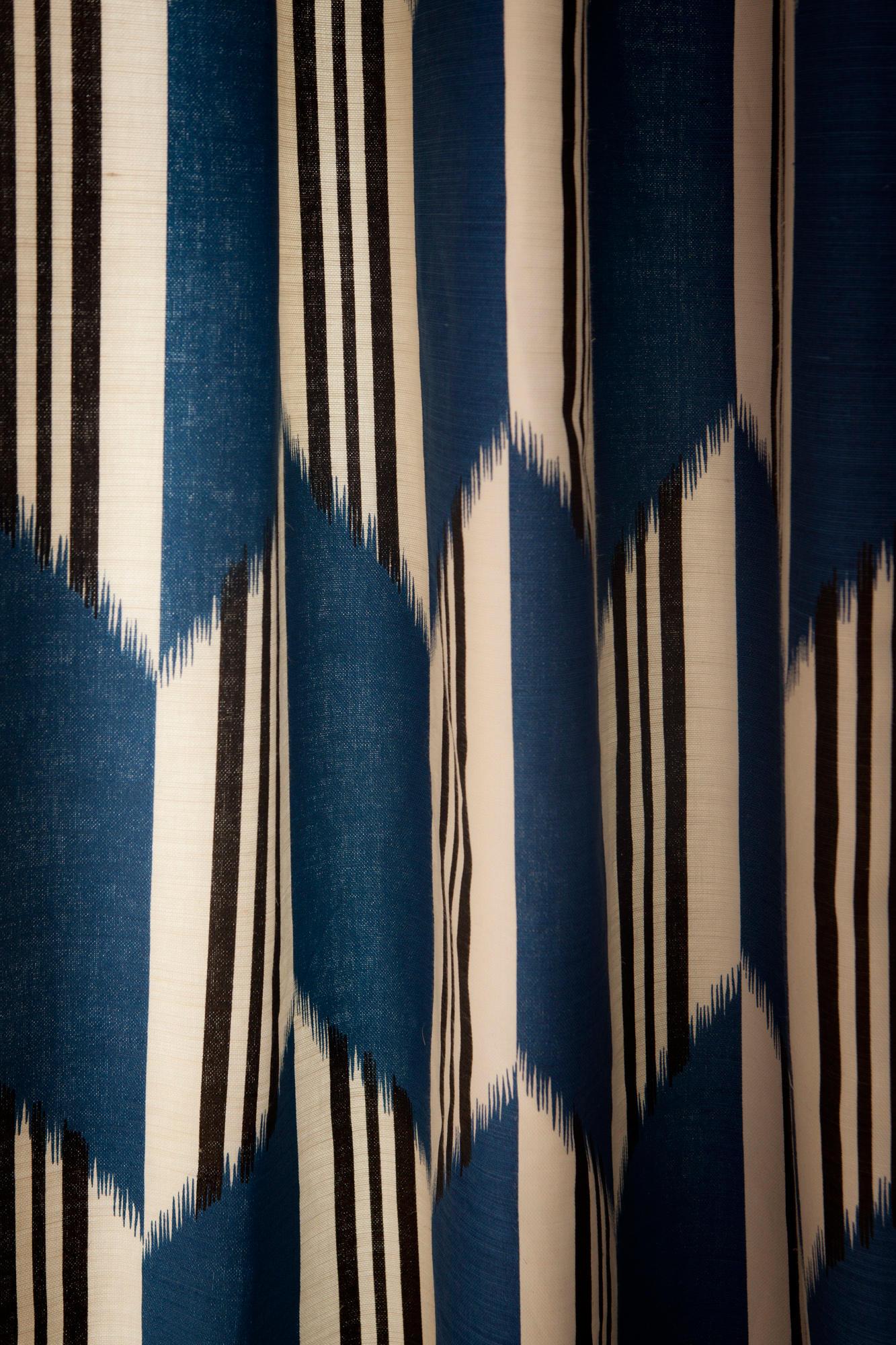 Alcora azul curtain fabrics from gast n y daniela - Gaston y daniela cortinas ...