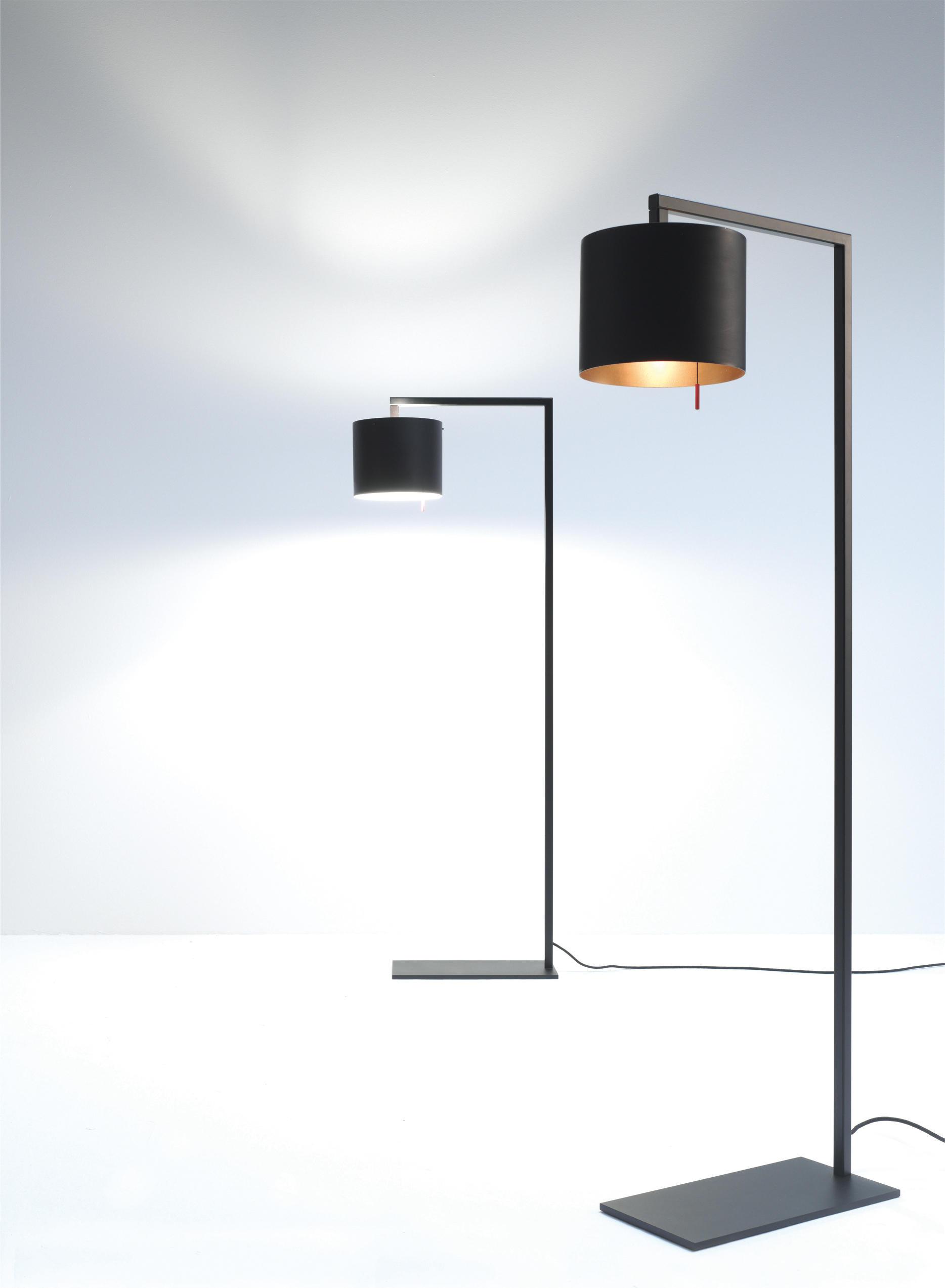 afra-sl-schwarz-h Faszinierend Stehlampe Studio Schwarz Gold Dekorationen