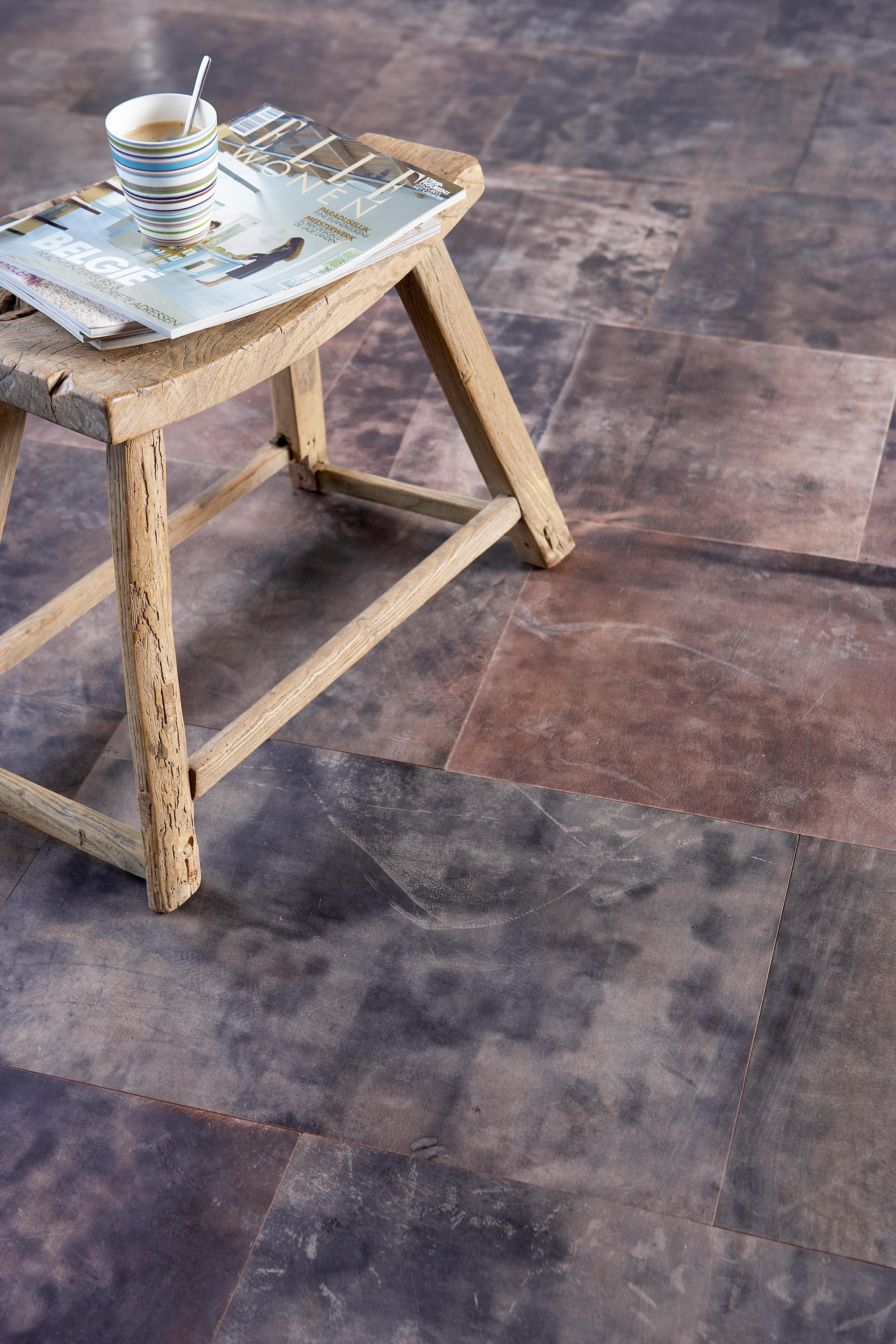 Tundra petrol leather tiles from alphenberg leather architonic ambient images dailygadgetfo Images
