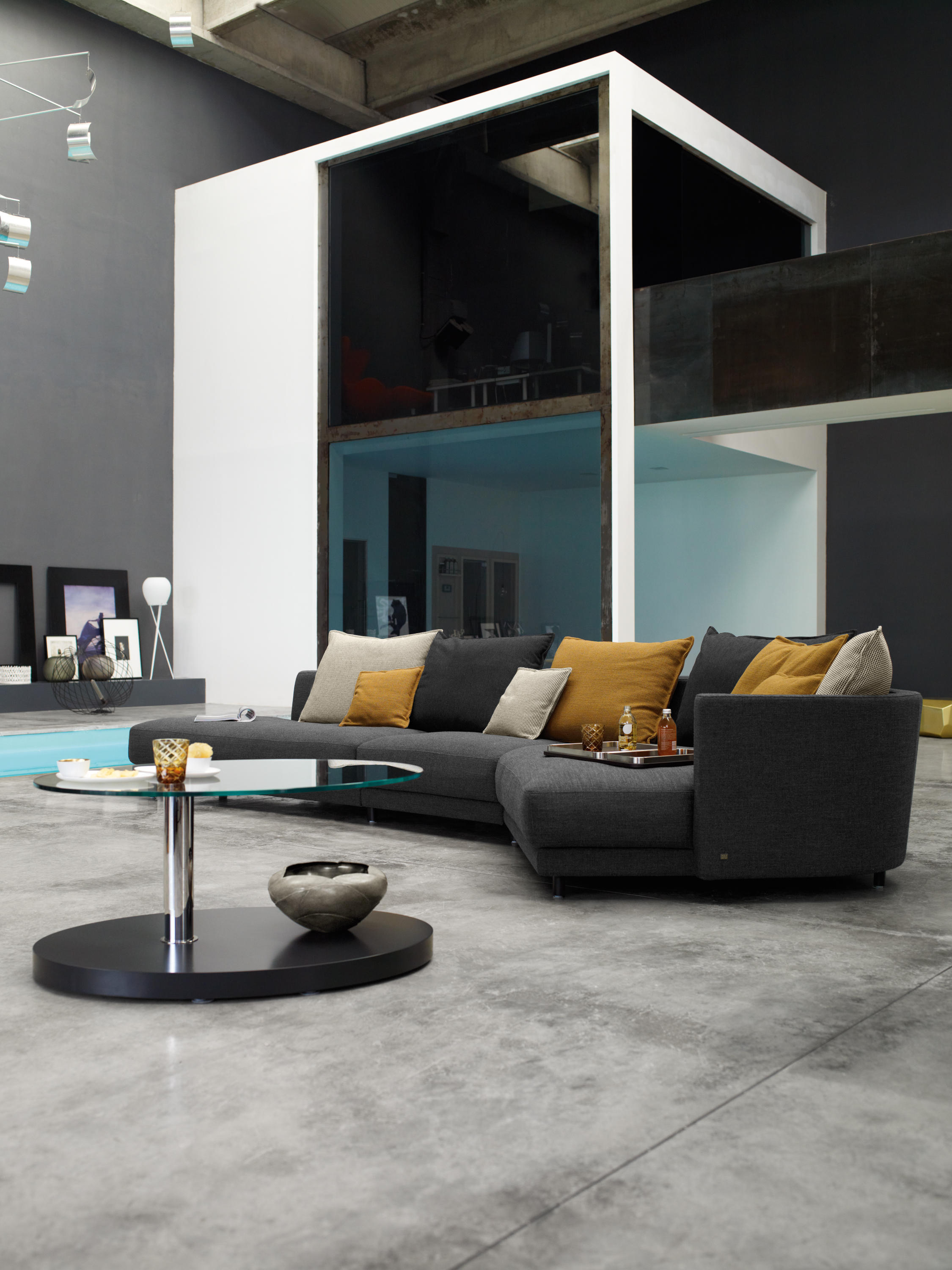 Rolf Benz Onda Lounge Sofas From Rolf Benz Architonic