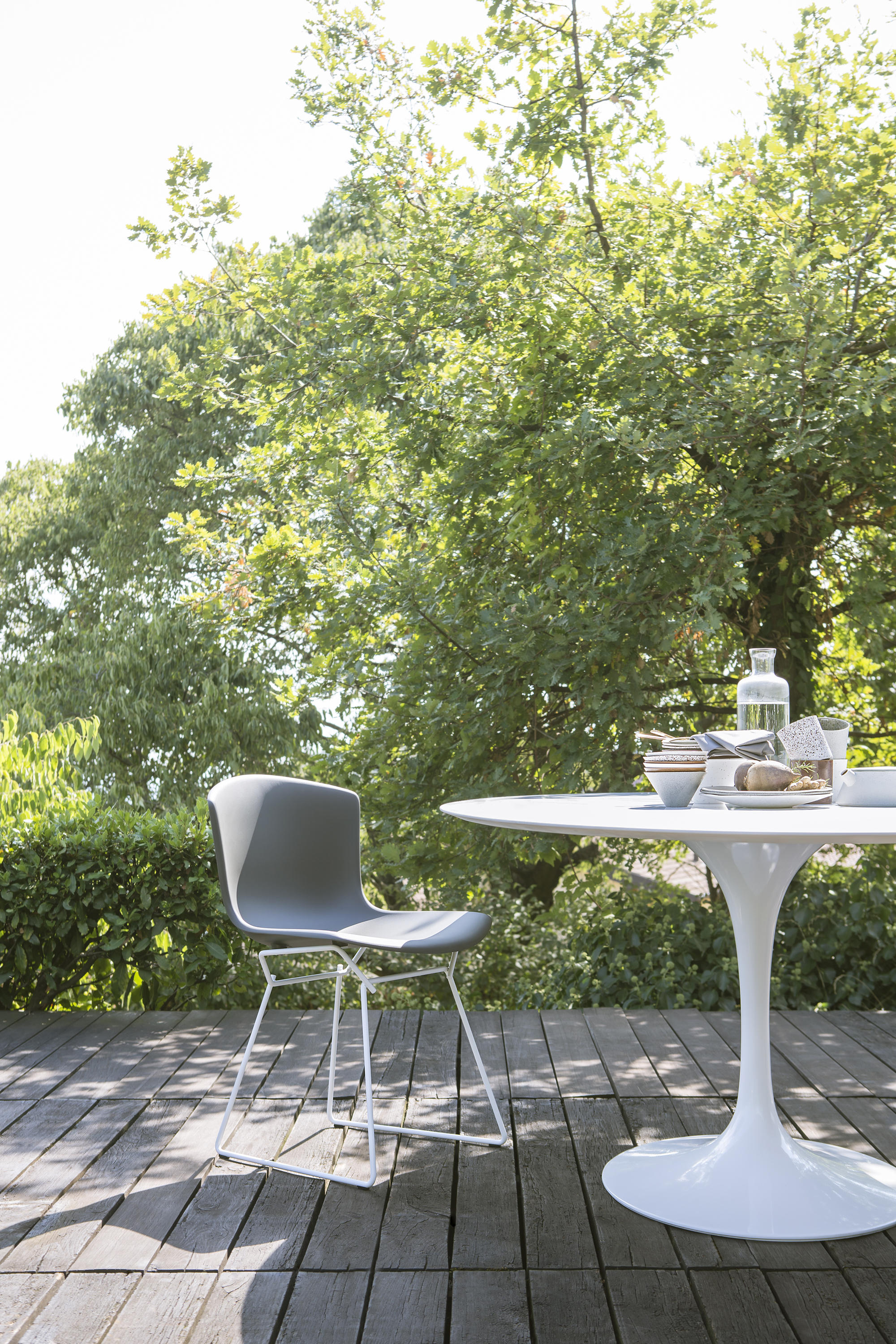 Bertoia Side Chair Outdoor Chairs From Knoll