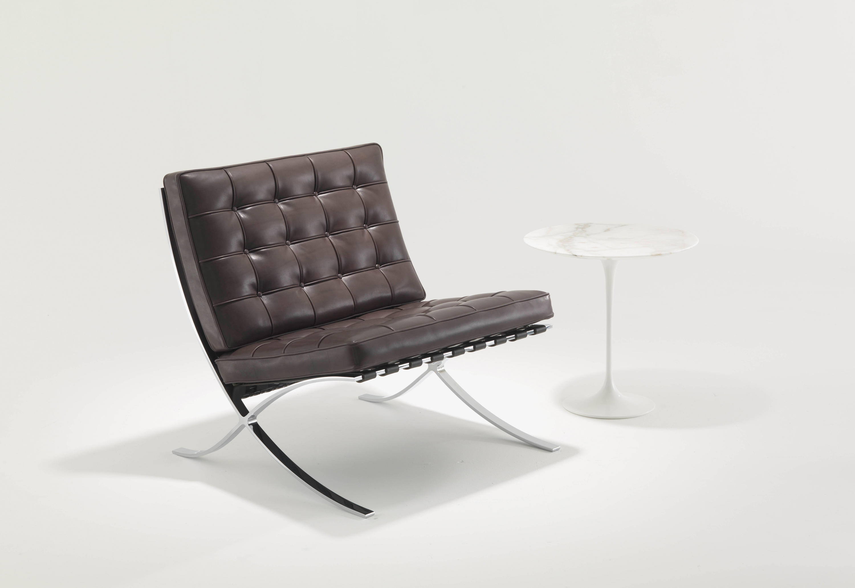 Ambient Images. Barcelona Chair By Knoll ...