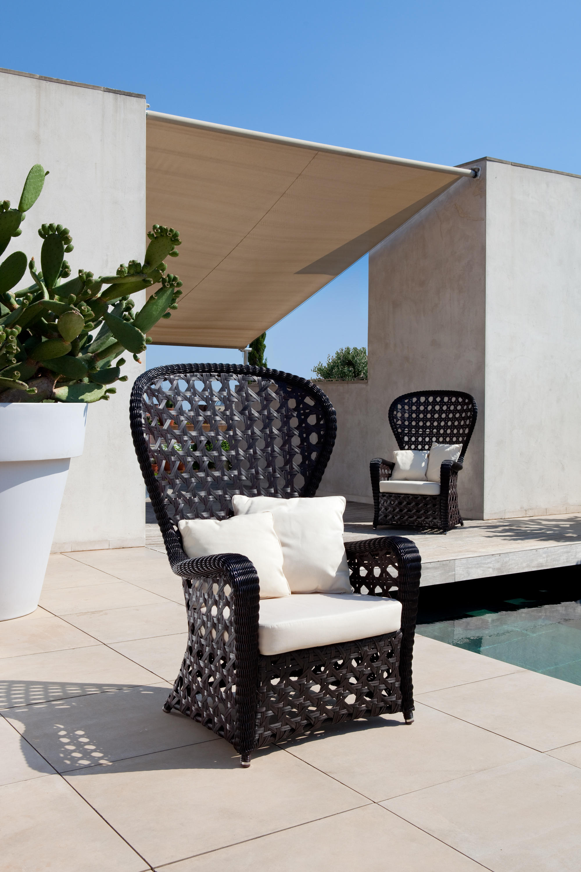 emmanuel armchair garden chairs from point architonic emmanuel armchair by point