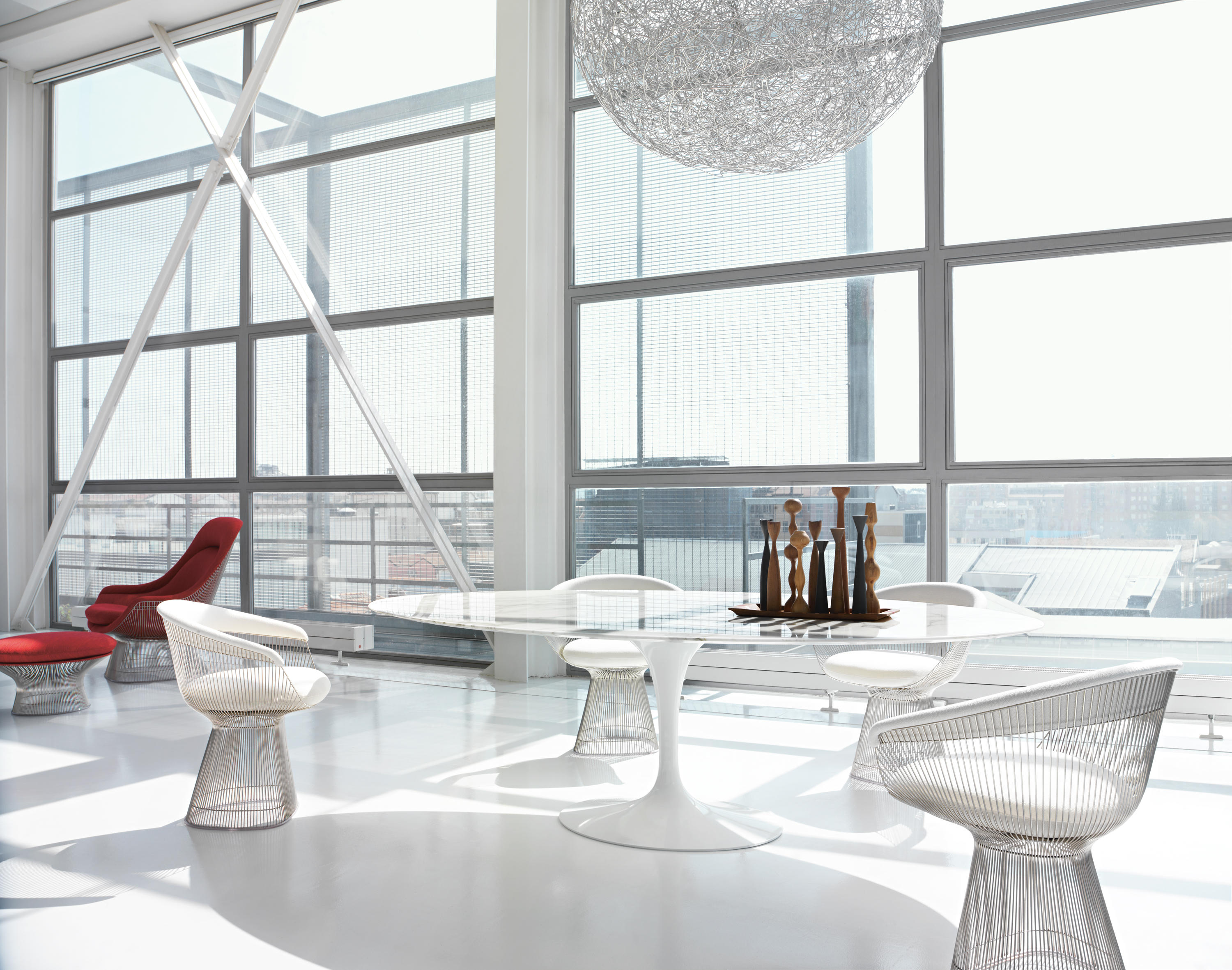 PLATNER SIDE CHAIR Chairs from Knoll International