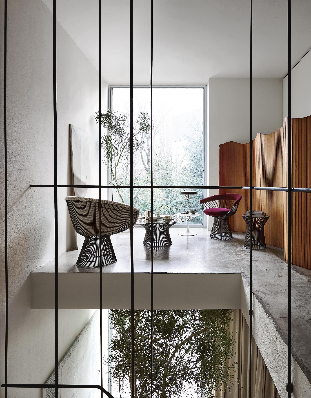 Platner petit fauteuil chaises de knoll international architonic - Fauteuil de bureau knoll ...