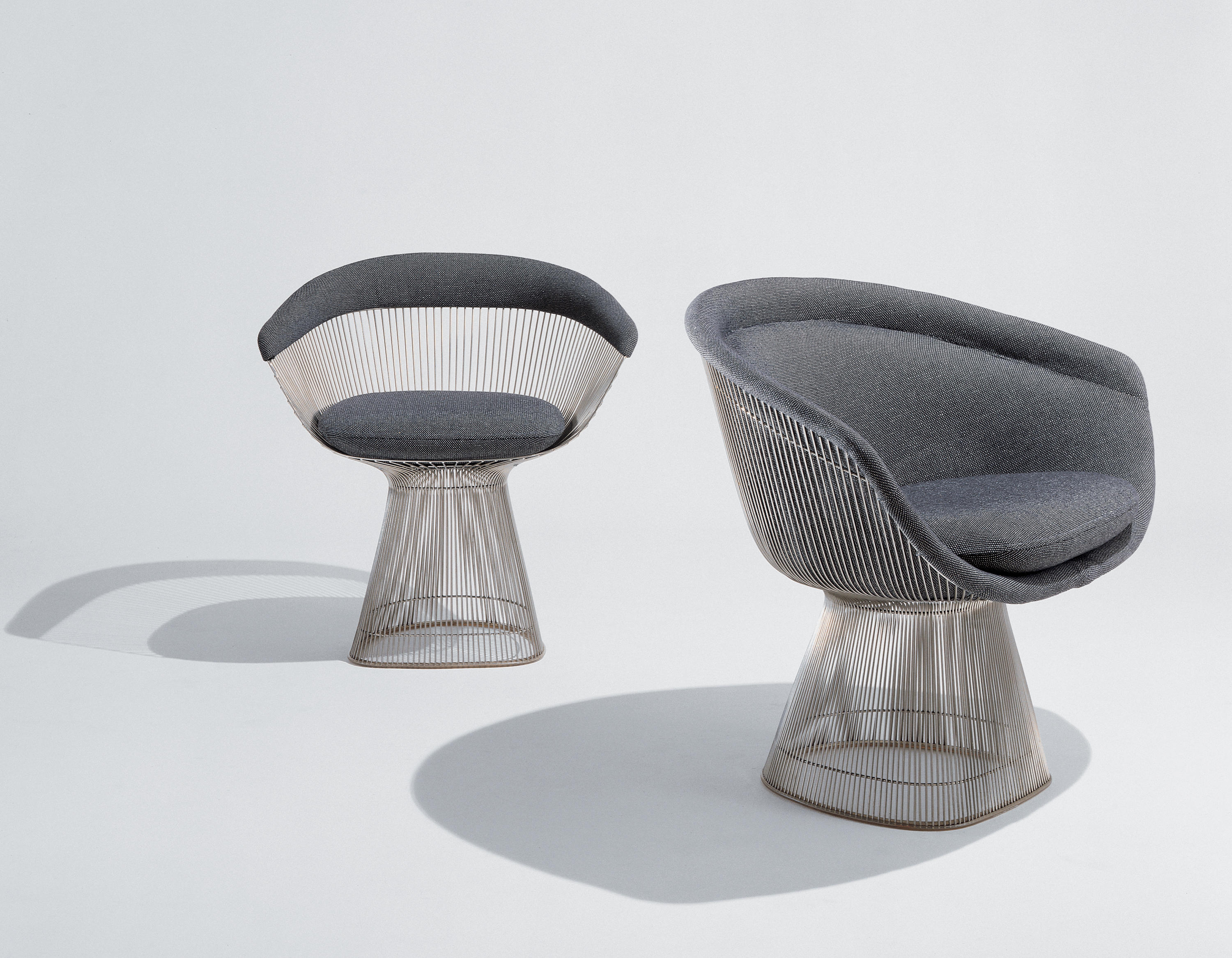platner side chair chairs from knoll international. Black Bedroom Furniture Sets. Home Design Ideas