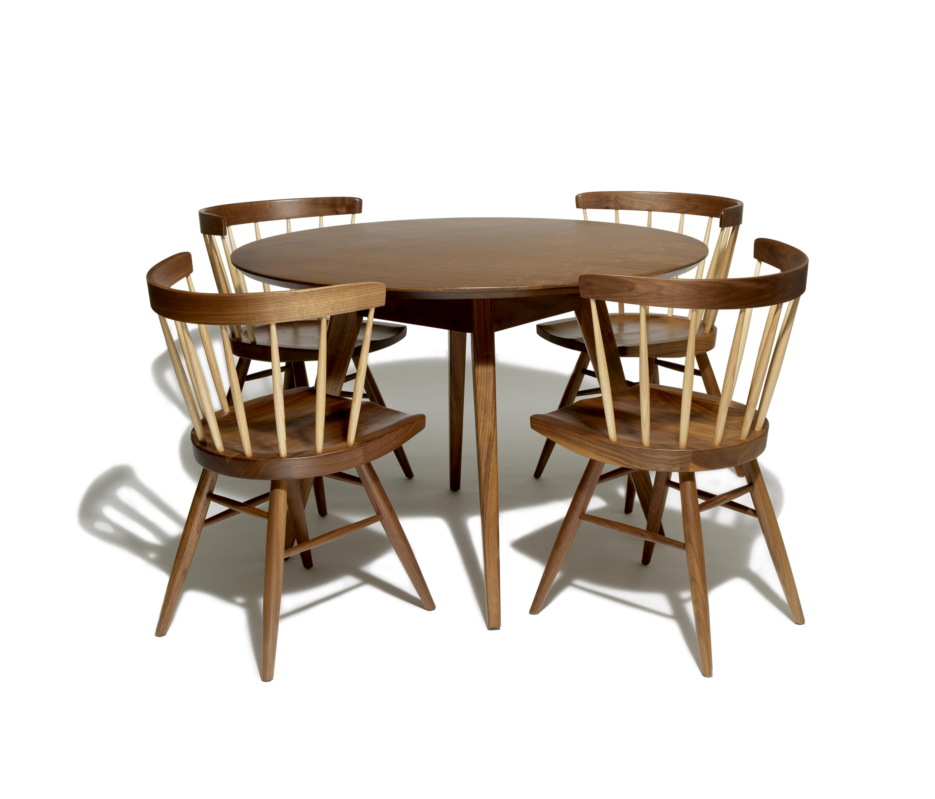 NAKASHIMA STRAIGHT CHAIR Restaurant chairs from Knoll
