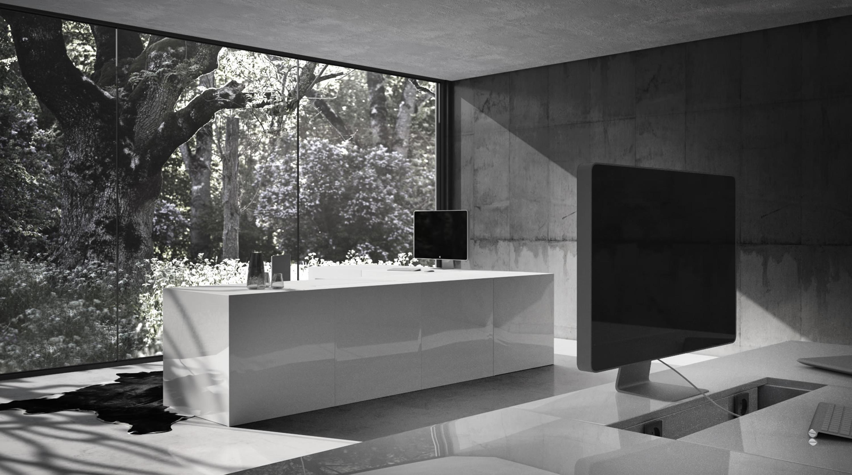 operarius schreibtisch multimedia tische von rechteck architonic. Black Bedroom Furniture Sets. Home Design Ideas