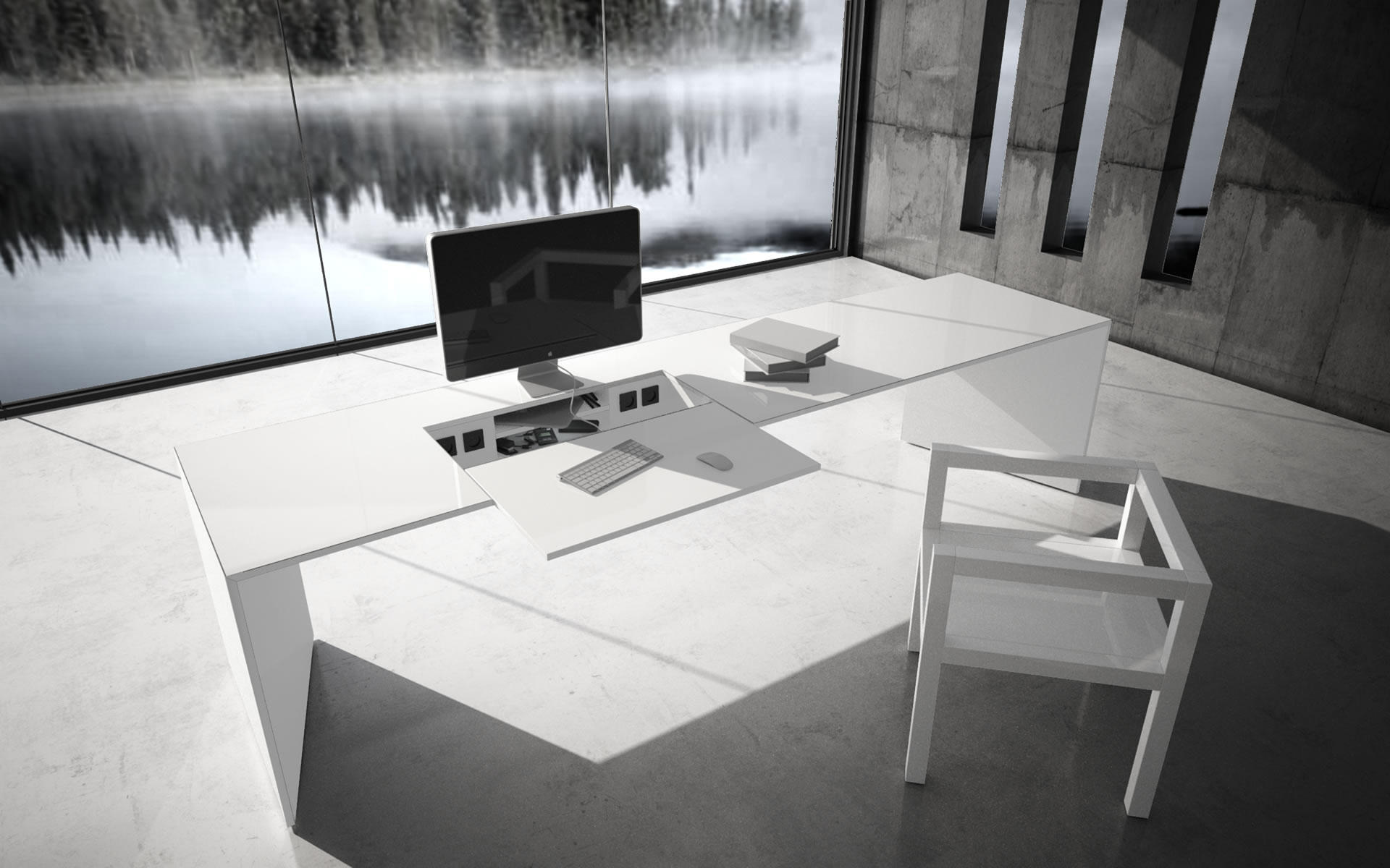 Eckschreibtisch weiß design  COMMENTOR DESK - AV tables from Rechteck | Architonic