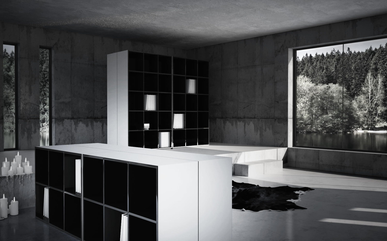 reservare regal b roregalsysteme von rechteck architonic. Black Bedroom Furniture Sets. Home Design Ideas