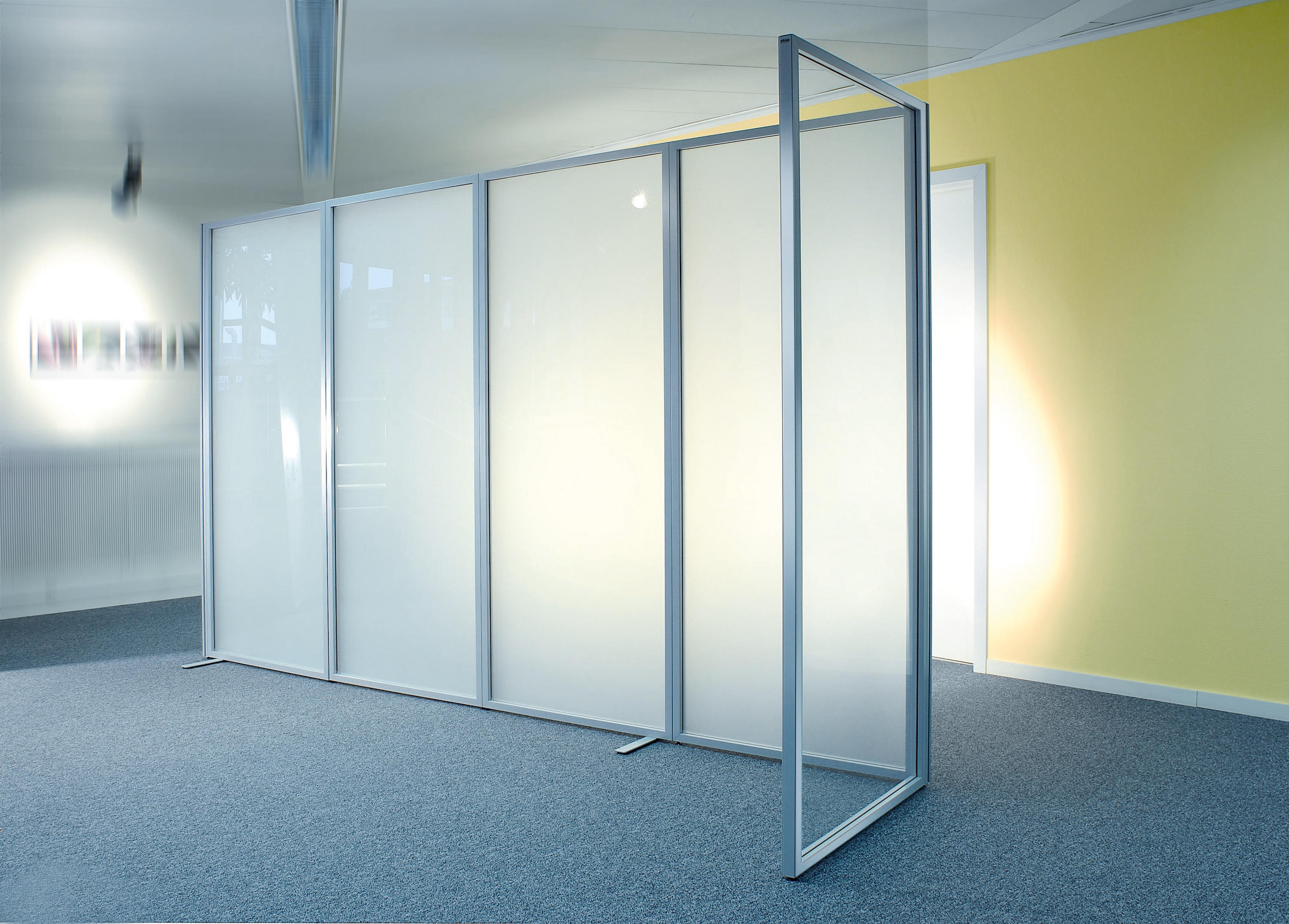 Sitag room partition walls ground glass space dividers for The room partition