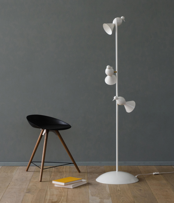 Alouette ceiling lamp 3 birds u general lighting from atelier alouette ceiling lamp 3 birds u by atelier areti mozeypictures Images